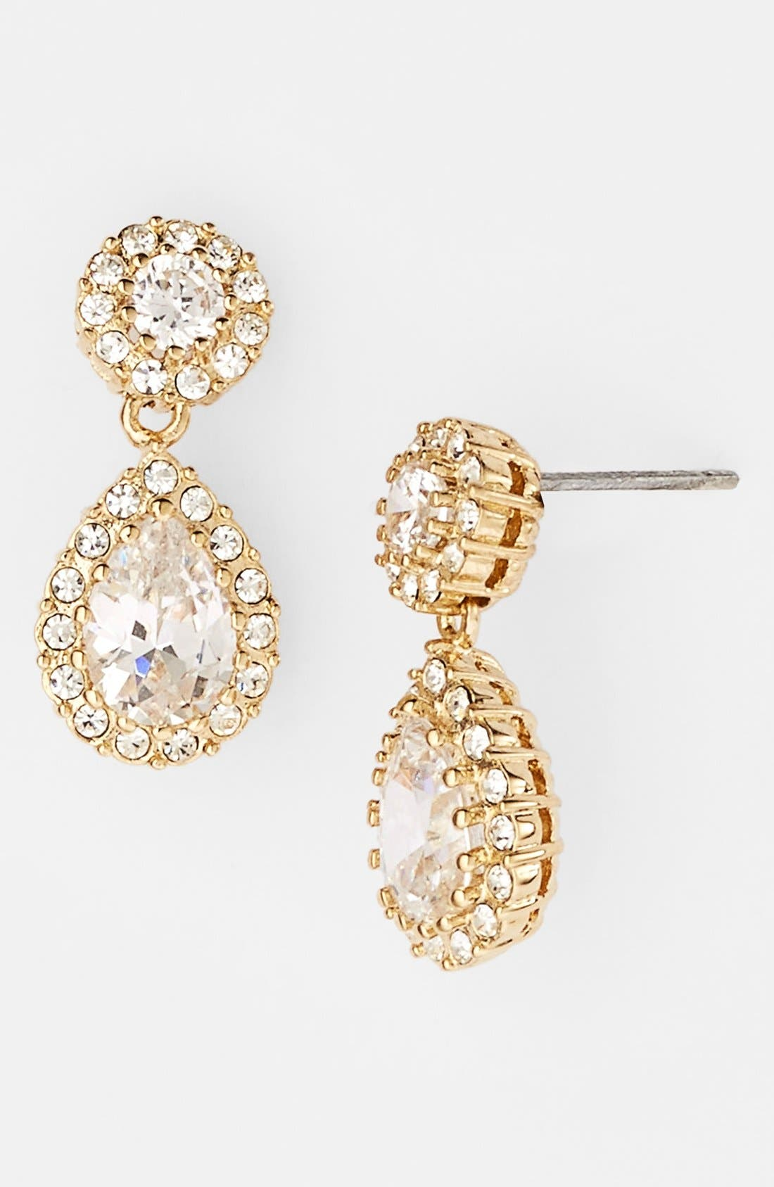 Main Image - Nadri Framed Pear Drop Earrings