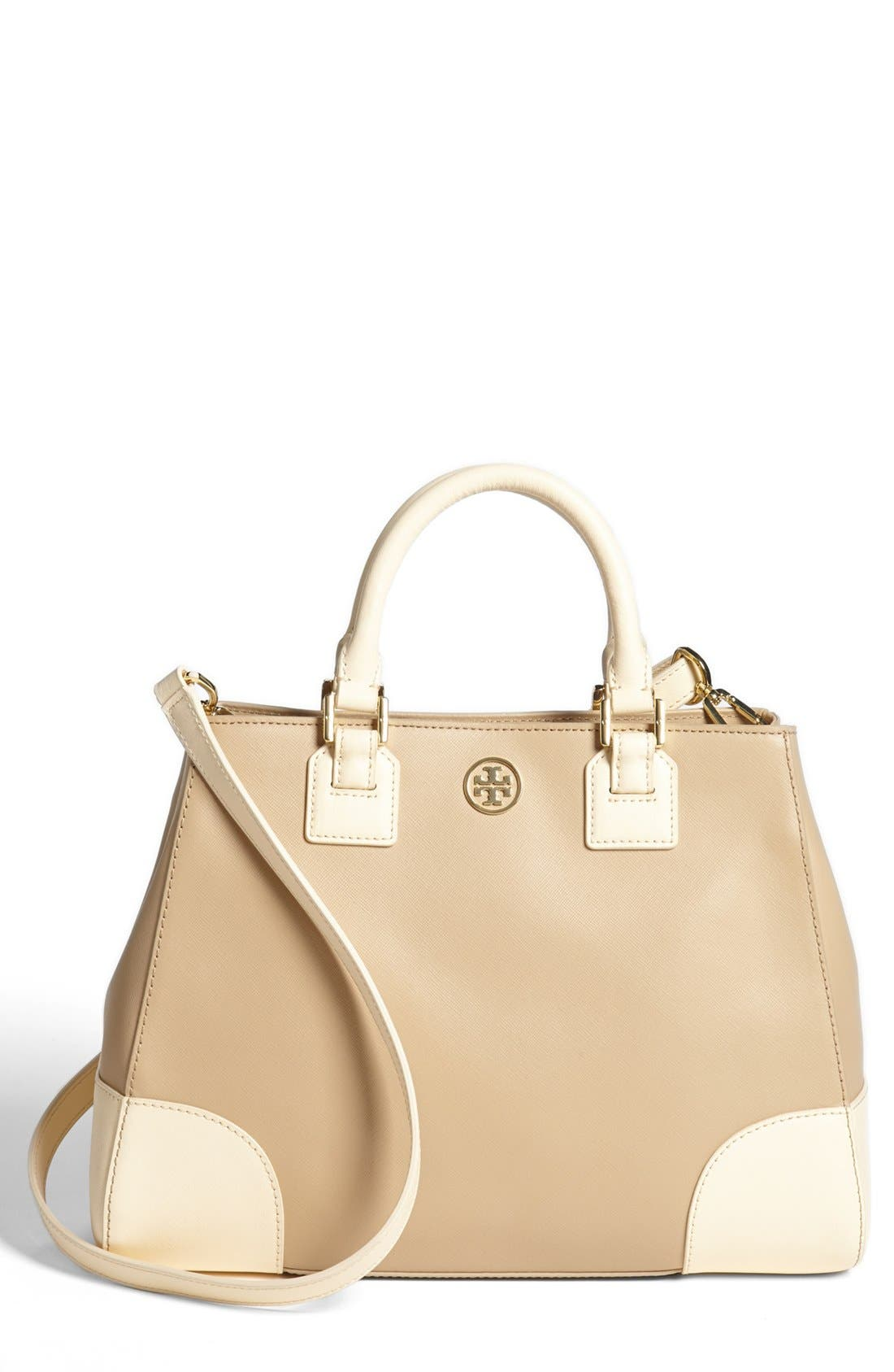 Alternate Image 1 Selected - Tory Burch 'Robinson' Triangle Tote