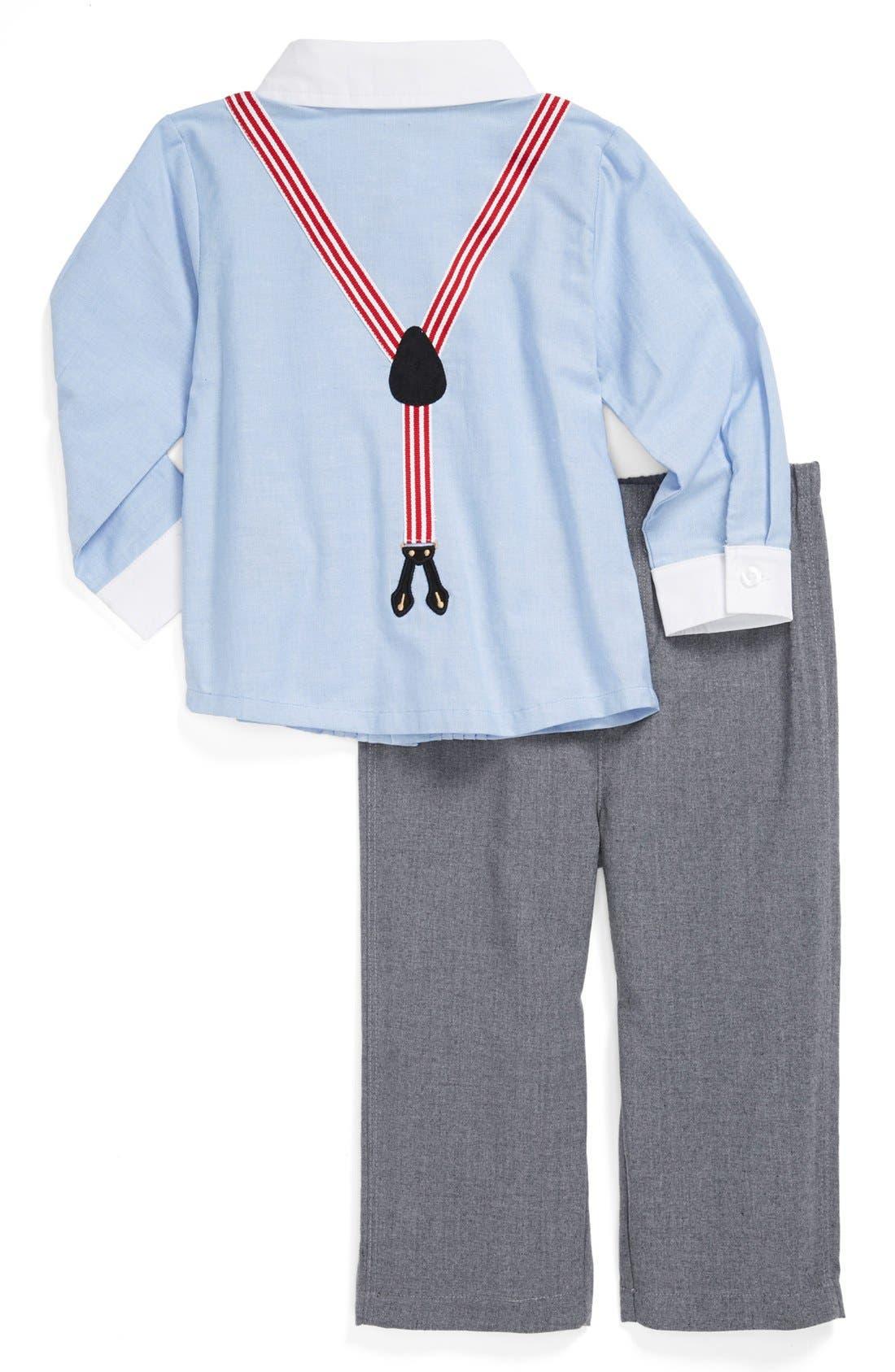 Alternate Image 2  - Miniclasix Shirt & Pants (Baby Boys)