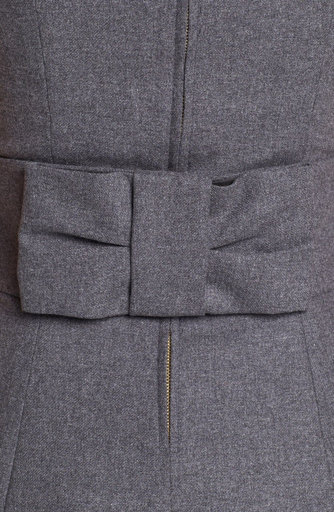 Alternate Image 3  - kate spade new york 'marti' wool blend a-line dress