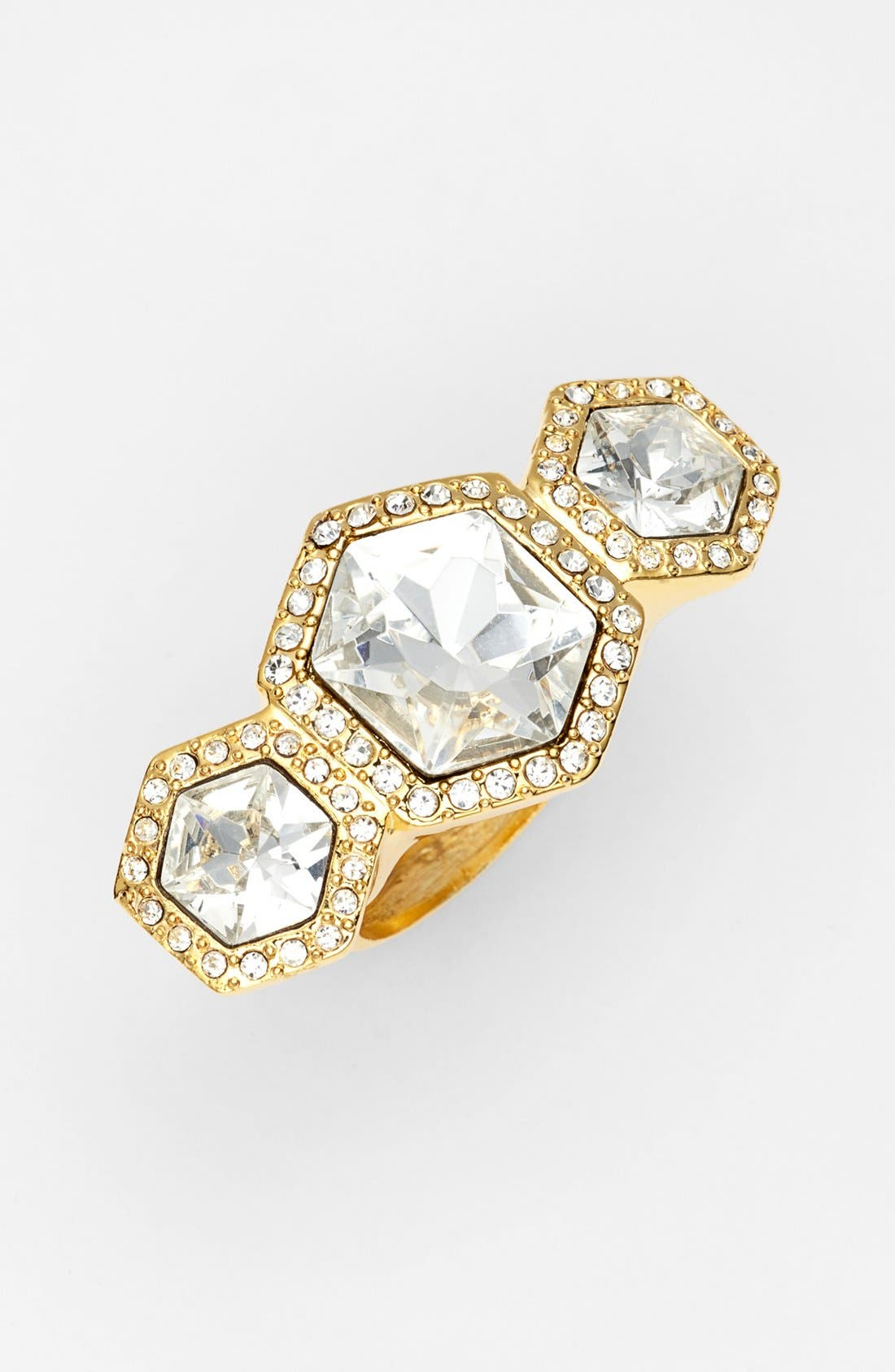 Alternate Image 1 Selected - Vince Camuto 'Diamonds in the Sky' Crystal Cocktail Ring