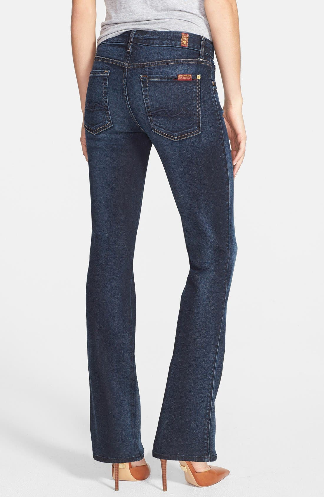 Alternate Image 2  - 7 For All Mankind® 'Kimmie' Bootcut Jeans (Merci Blue)