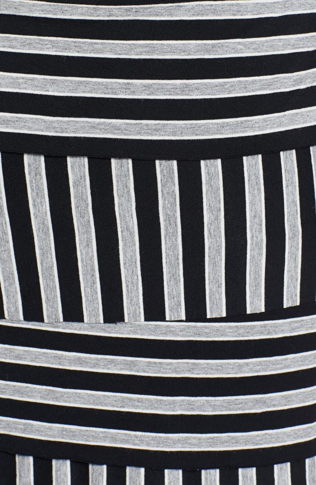 Alternate Image 3  - Vince Camuto 'Calais' Zigzag Stripe Dress