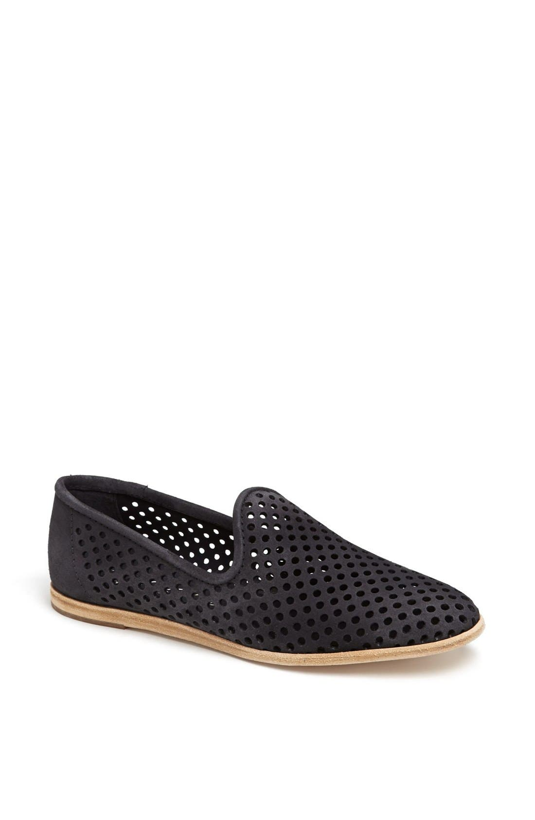Alternate Image 1 Selected - Pedro Garcia 'Yasmin' Perforated Leather Slip-On