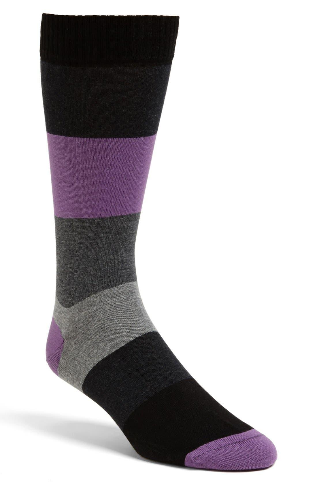 Alternate Image 1 Selected - Marcoliani Color Block Socks