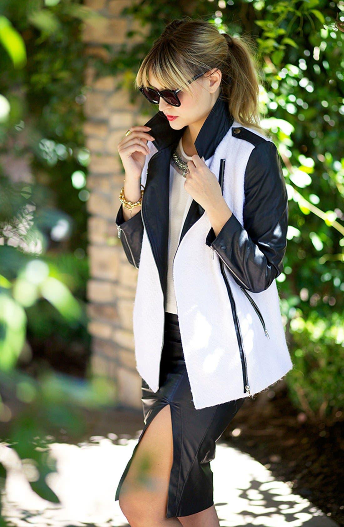 Main Image - ASTR Coat, Shell & Skirt