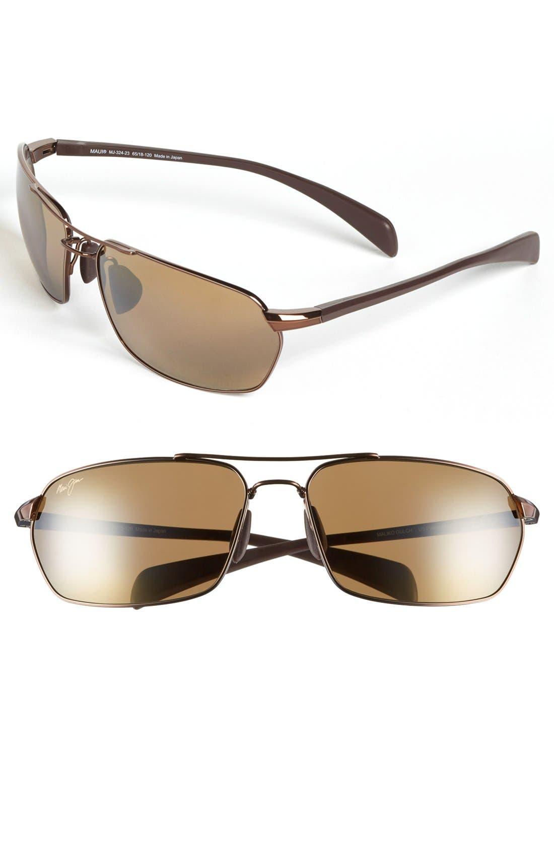 MAUI JIM 'Maliko Gulch - PolarizedPlus®2' 65mm Sunglasses