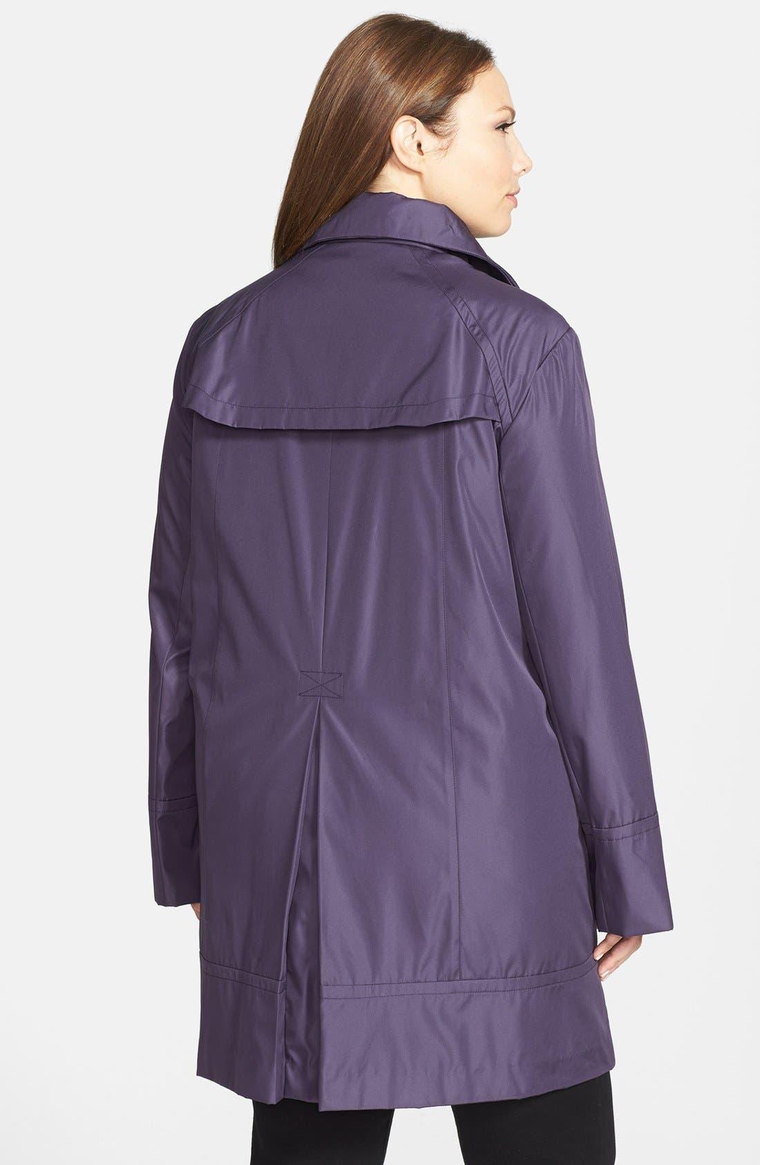 Alternate Image 2  - Marc New York by Andrew Marc 'Carmine' A-Line Raincoat (Plus Size)