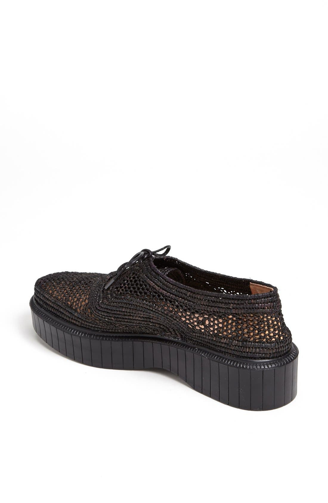 Alternate Image 2  - Robert Clergerie 'Pogo' Raffia Platform Oxford