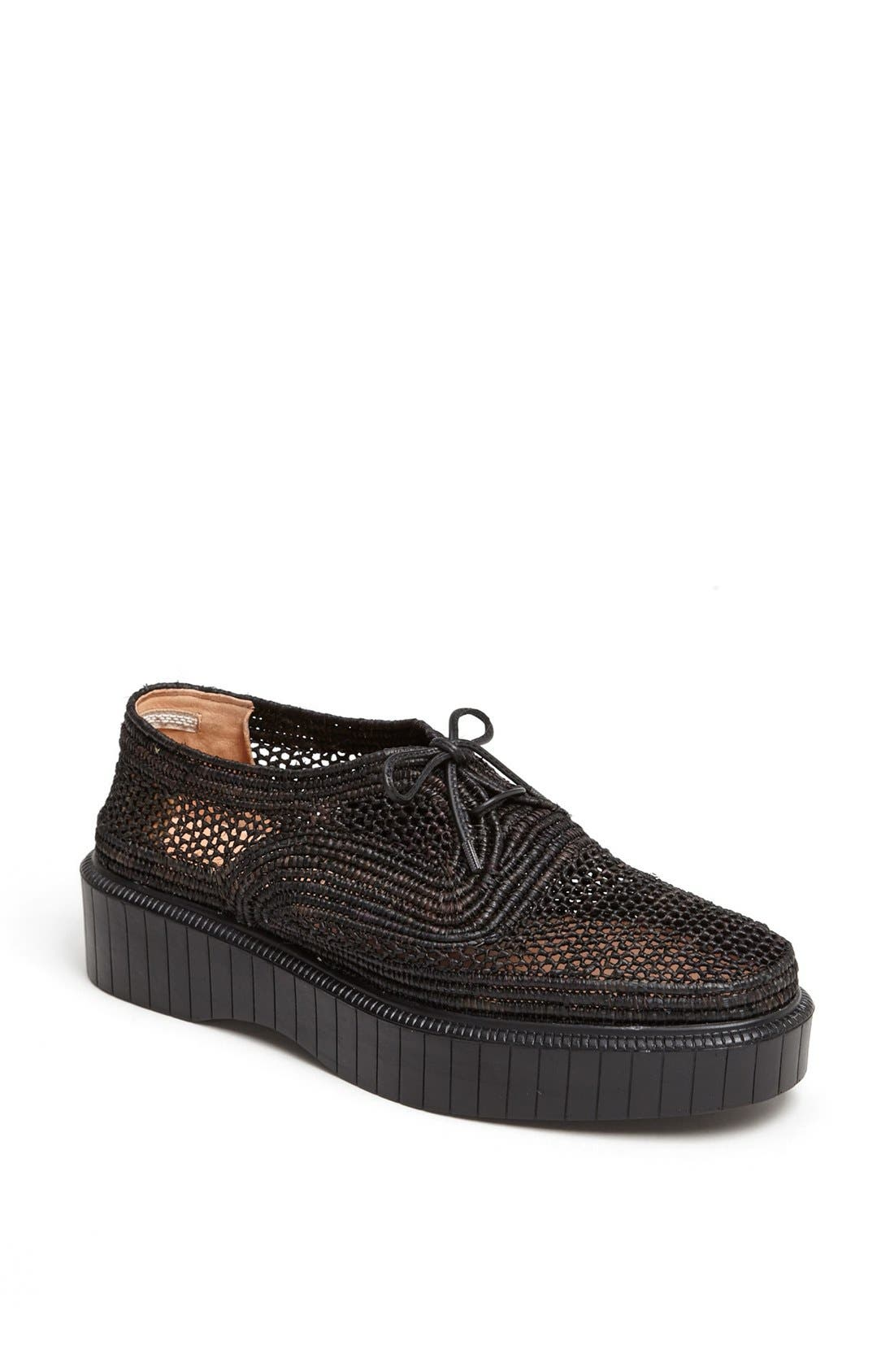 Alternate Image 1 Selected - Robert Clergerie 'Pogo' Raffia Platform Oxford