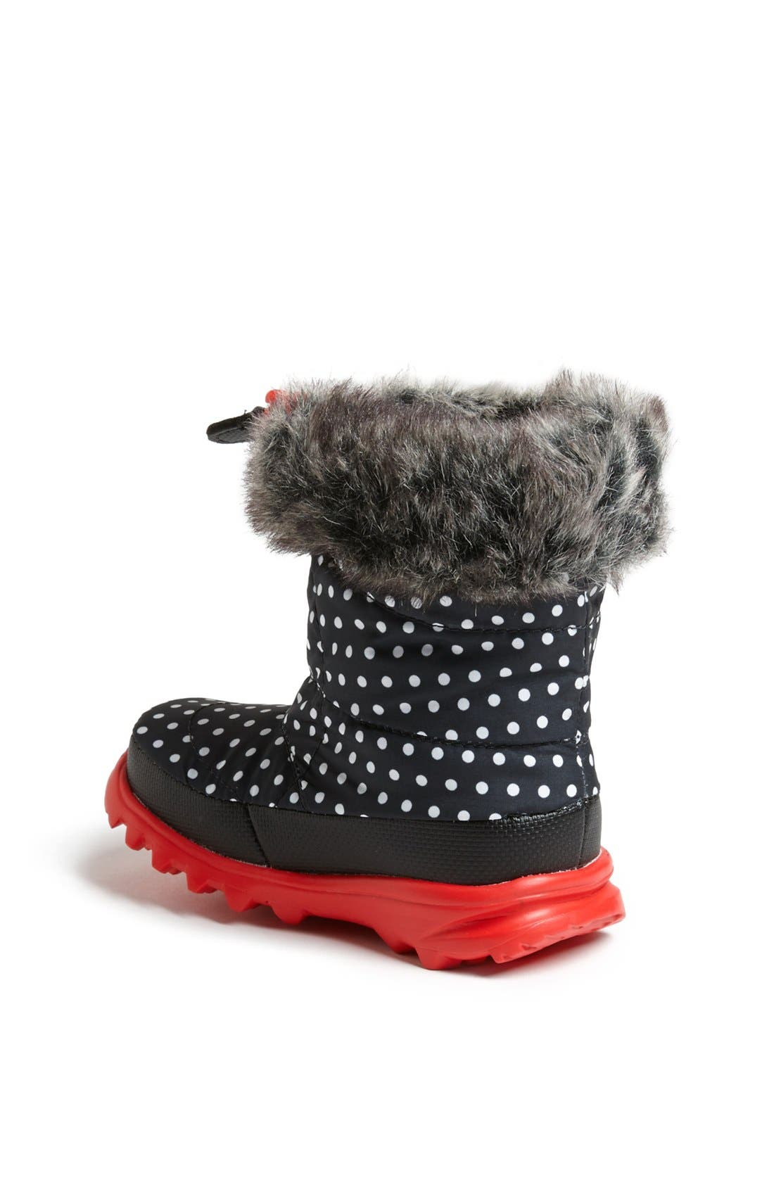 Alternate Image 2  - The North Face 'Nuptse Fur II' Winter Boot (Walker & Toddler)