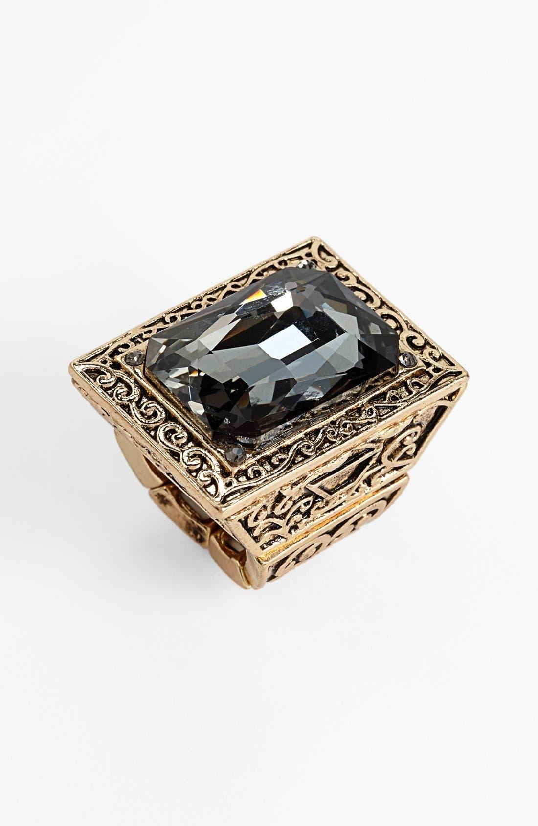 Main Image - Natasha Couture Square Statement Ring