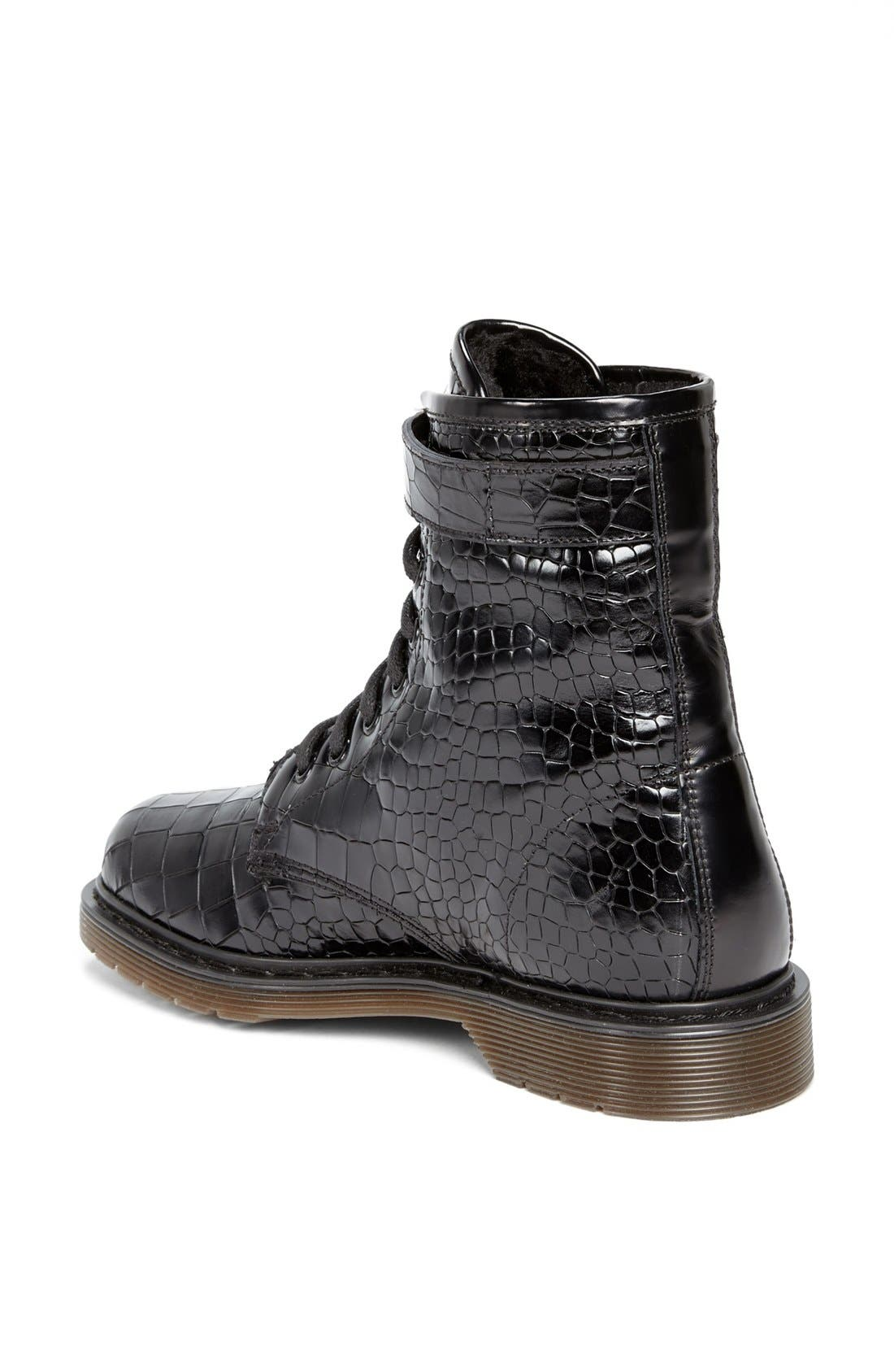 Alternate Image 2  - Kurt Geiger London 'Steell' Croc Embossed Leather Boot