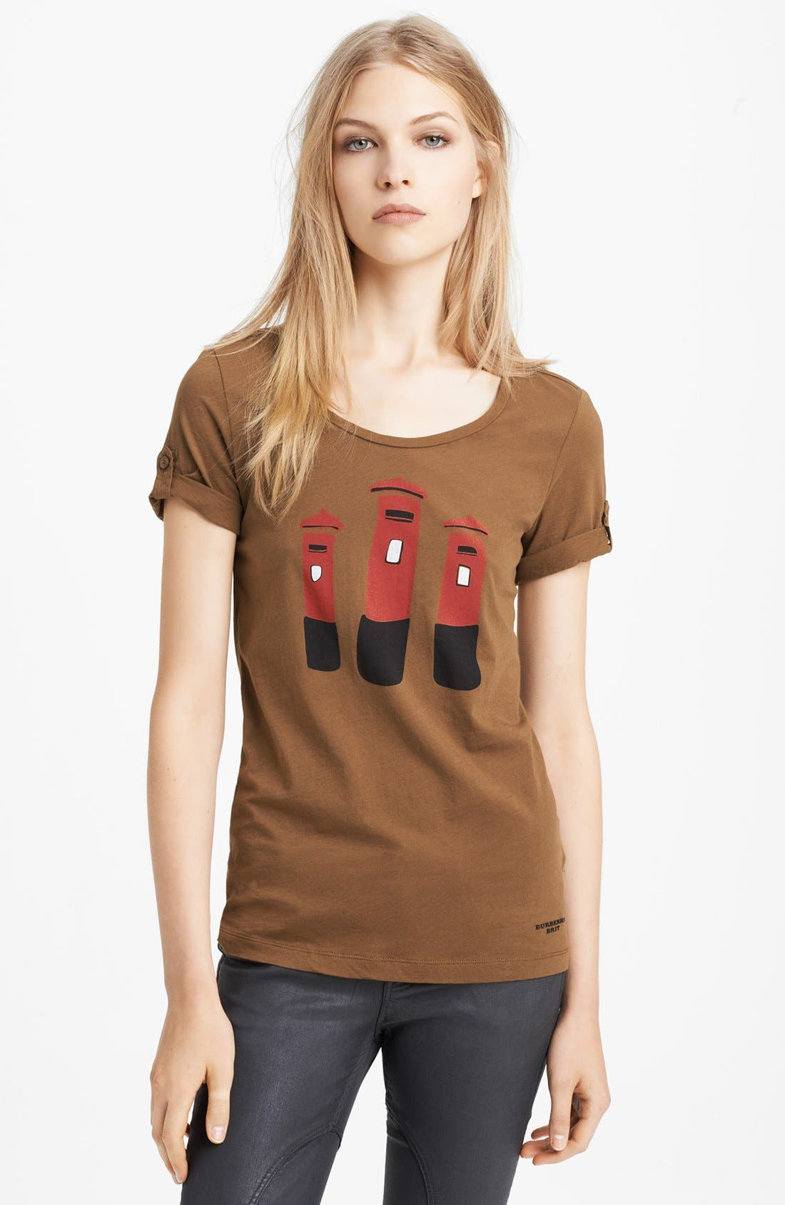 Alternate Image 1 Selected - Burberry Brit Graphic Tee