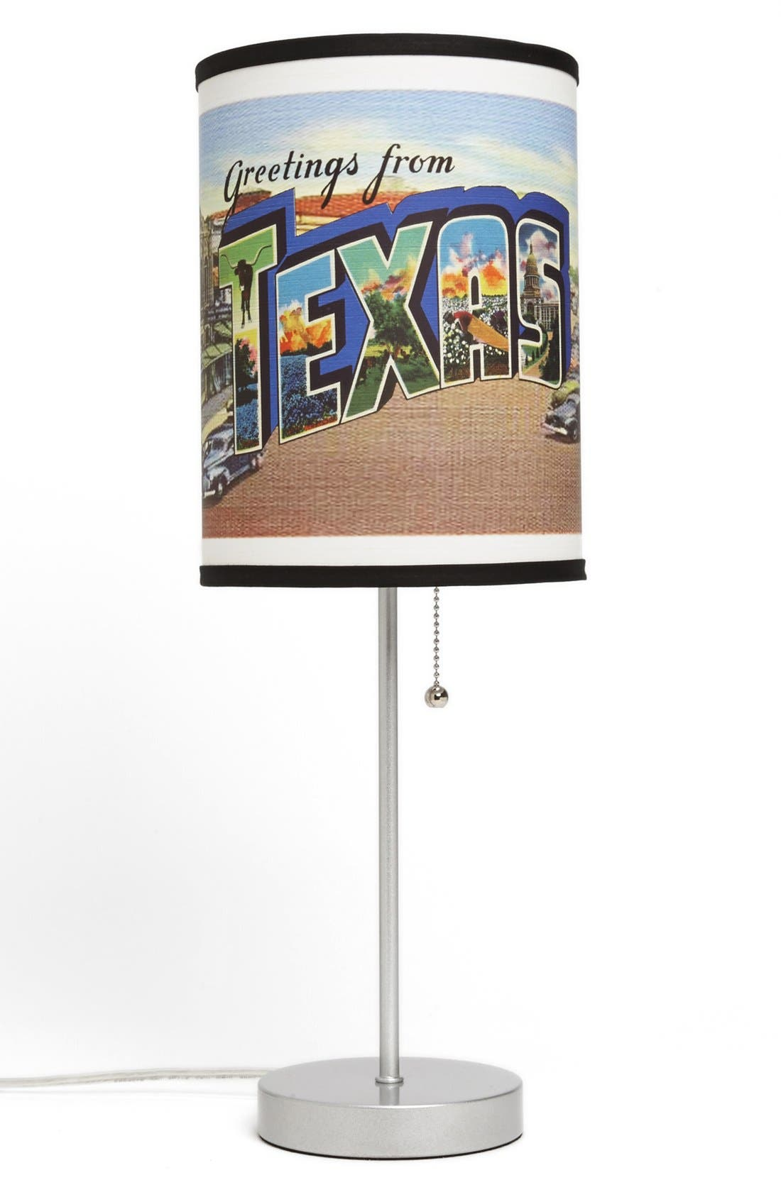 Alternate Image 1 Selected - LAMP-IN-A-BOX 'Texas Postcard' Table Lamp
