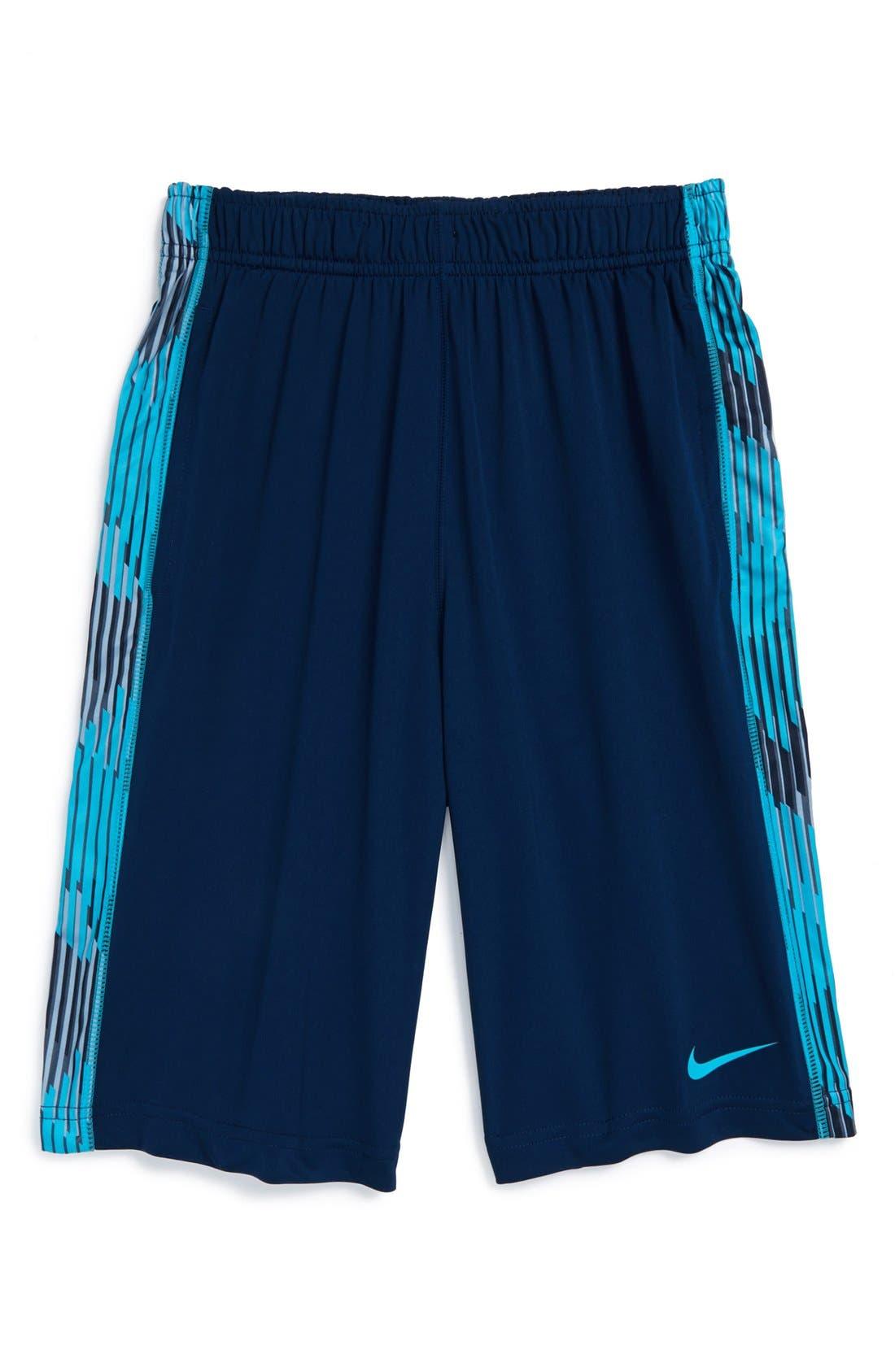 Alternate Image 1 Selected - Nike 'Fly GFX' Shorts (Big Boys)
