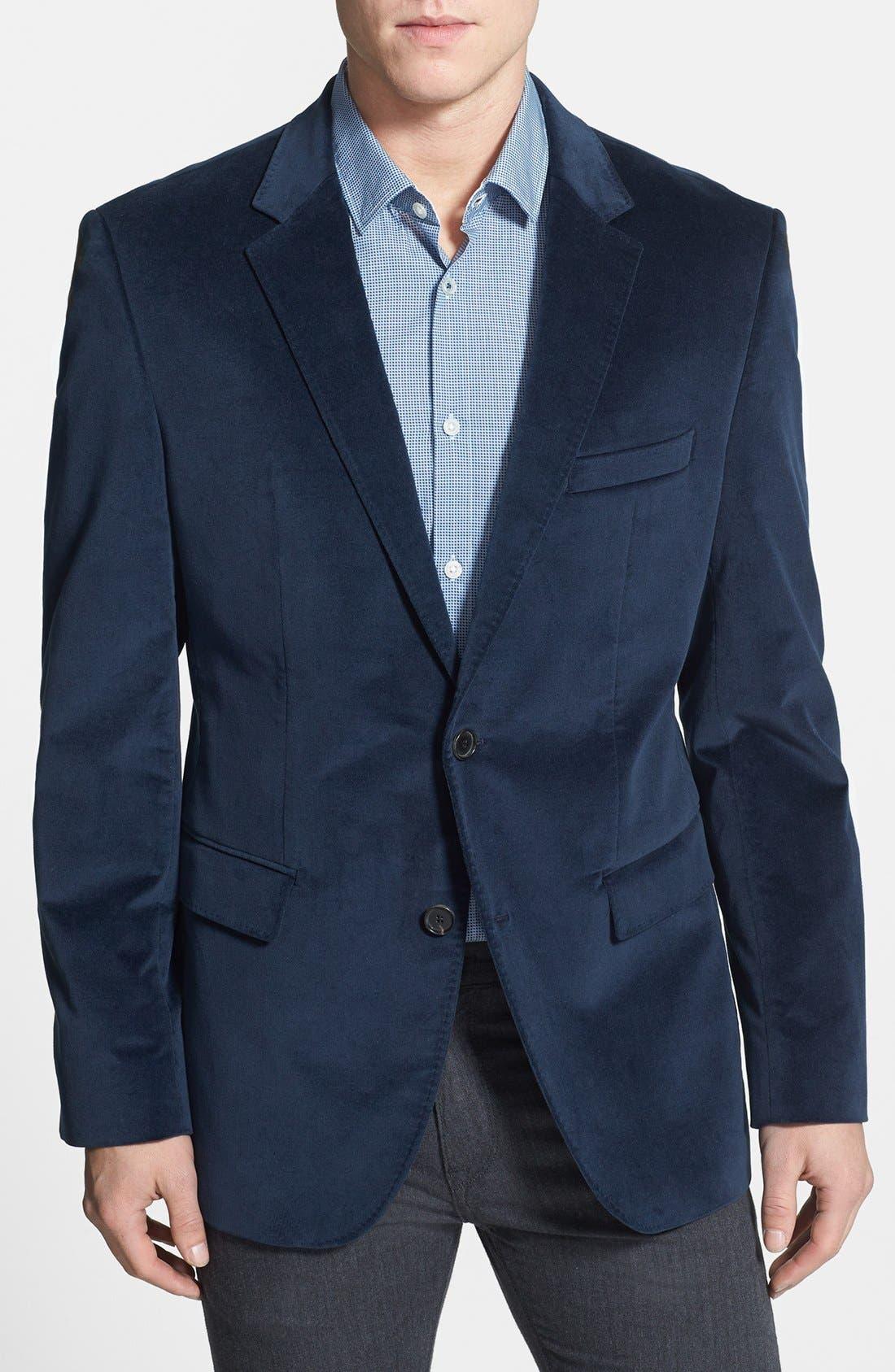 Alternate Image 1 Selected - BOSS HUGO BOSS 'The Coast Us' Stretch Cotton Sportcoat