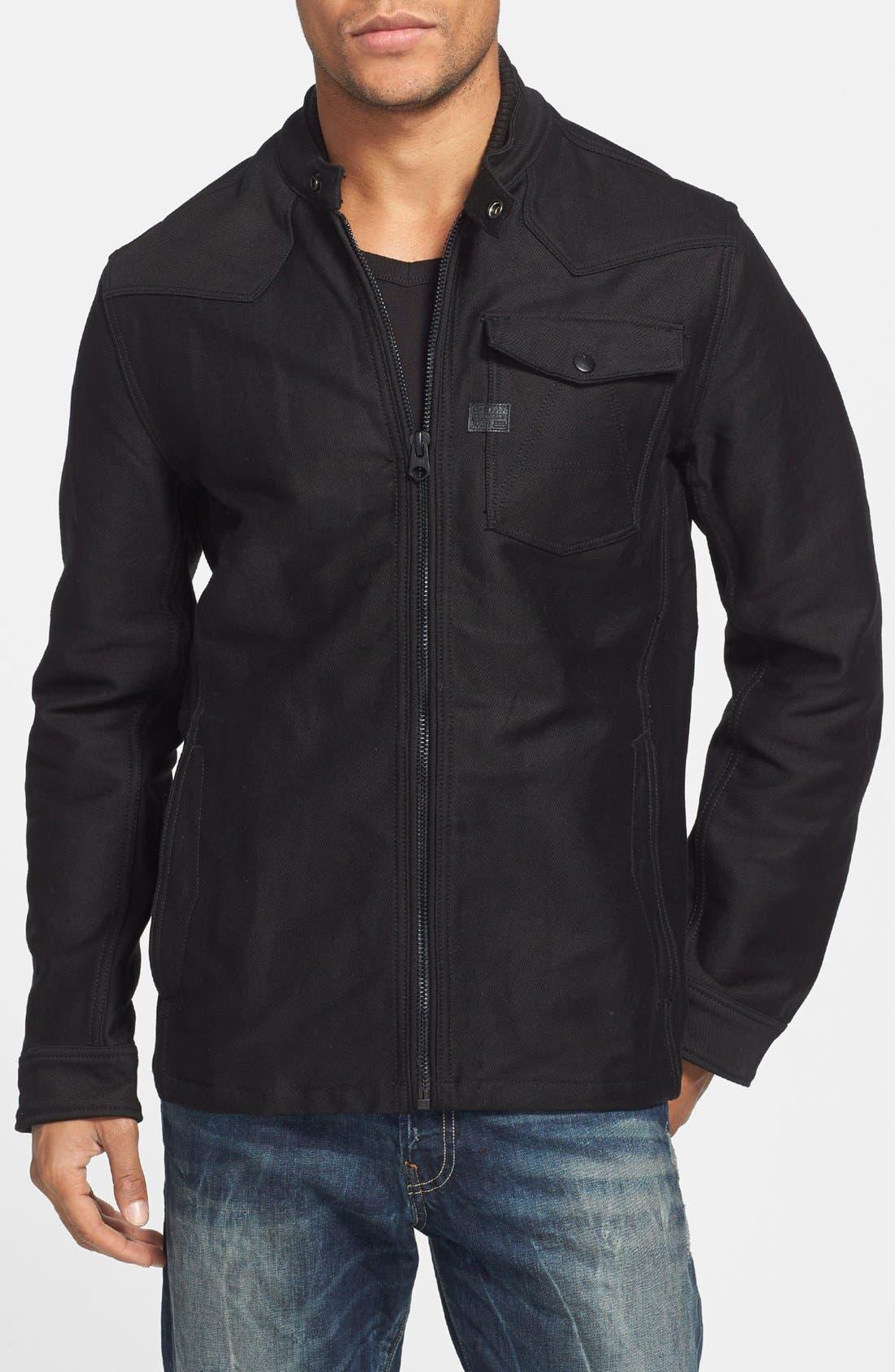 Alternate Image 1 Selected - G-Star Raw Cotton Canvas Shirt Jacket