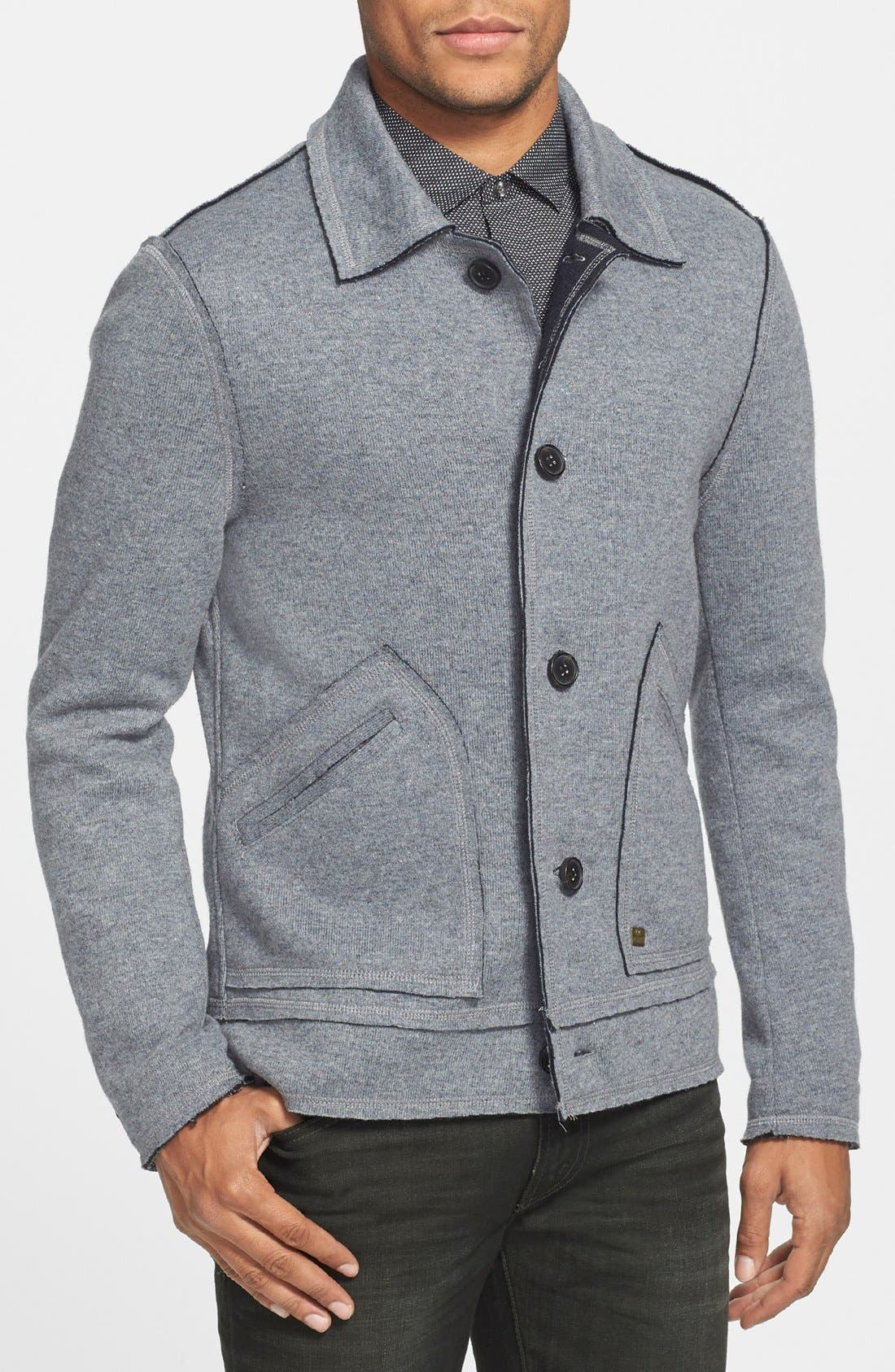 Alternate Image 1 Selected - Antony Morato Wool Blend Jacket