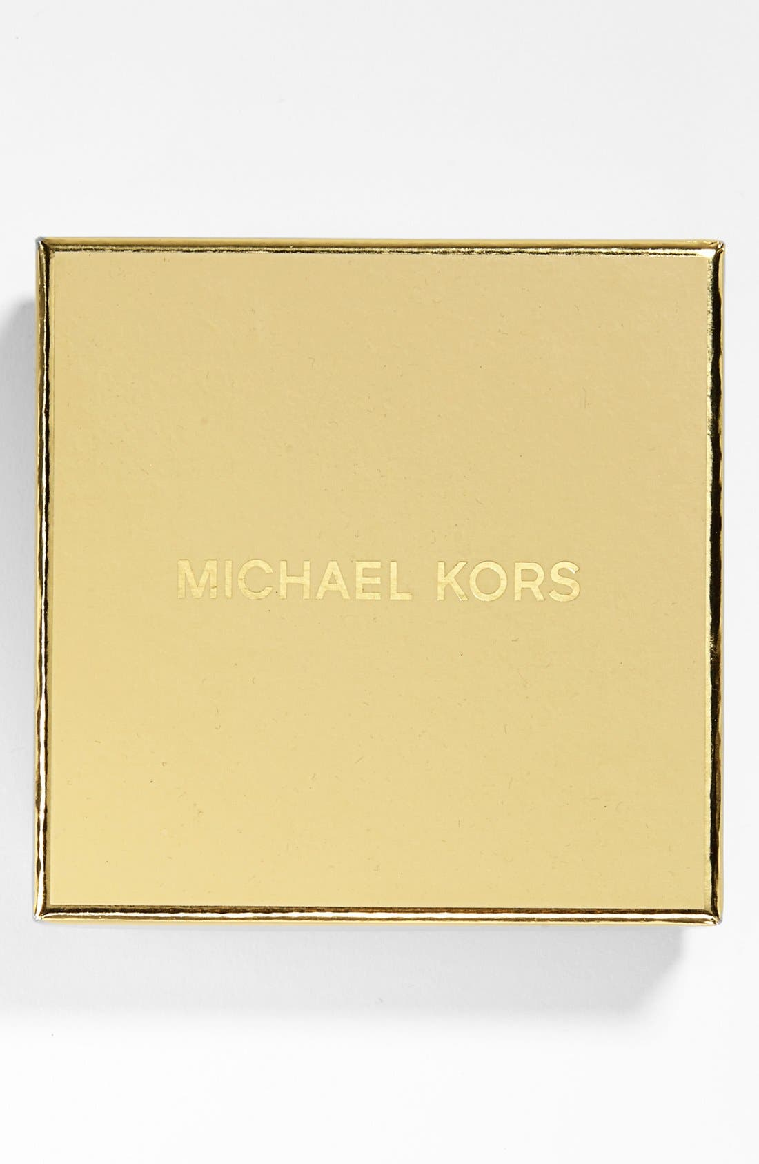 Alternate Image 2  - Michael Kors Boxed Square Crystal Hinge Bangle
