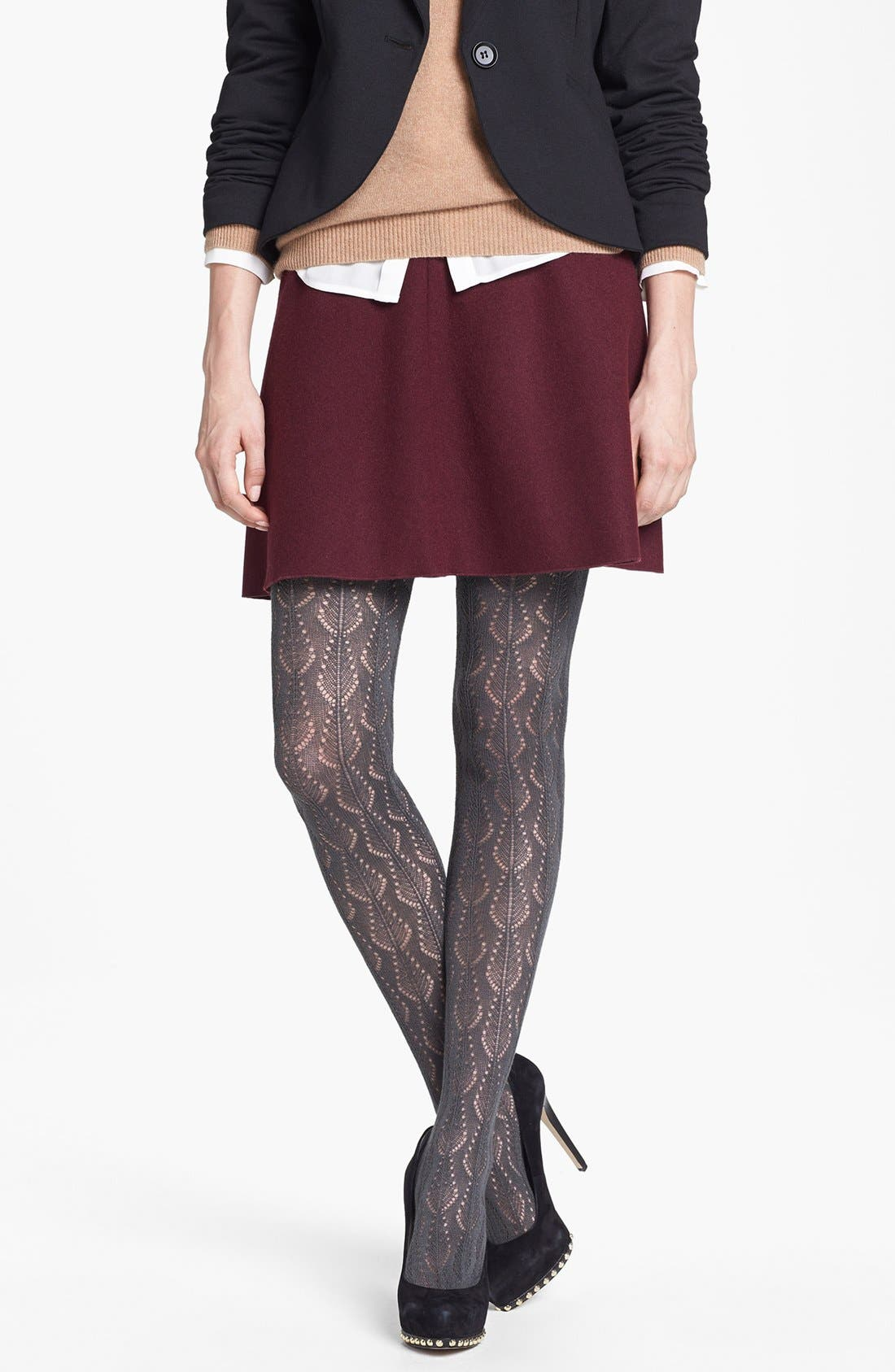 Alternate Image 1 Selected - Nordstrom 'Pretty Pointelle' Tights