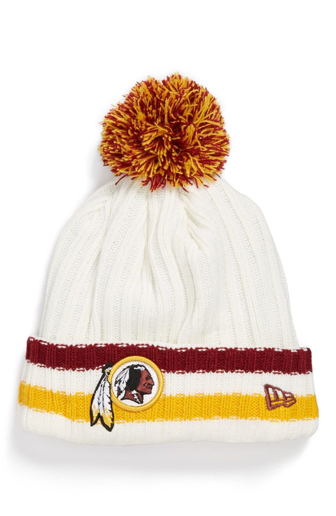 Main Image - New Era Cap 'Yesteryear - Washington Redskins' Knit Cap