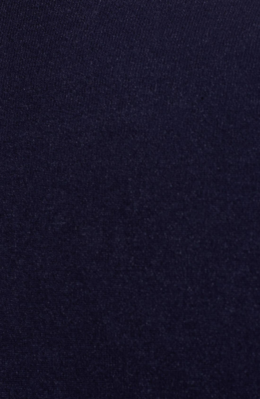 Alternate Image 3  - Armani Collezioni Mock Neck Zip Sweater