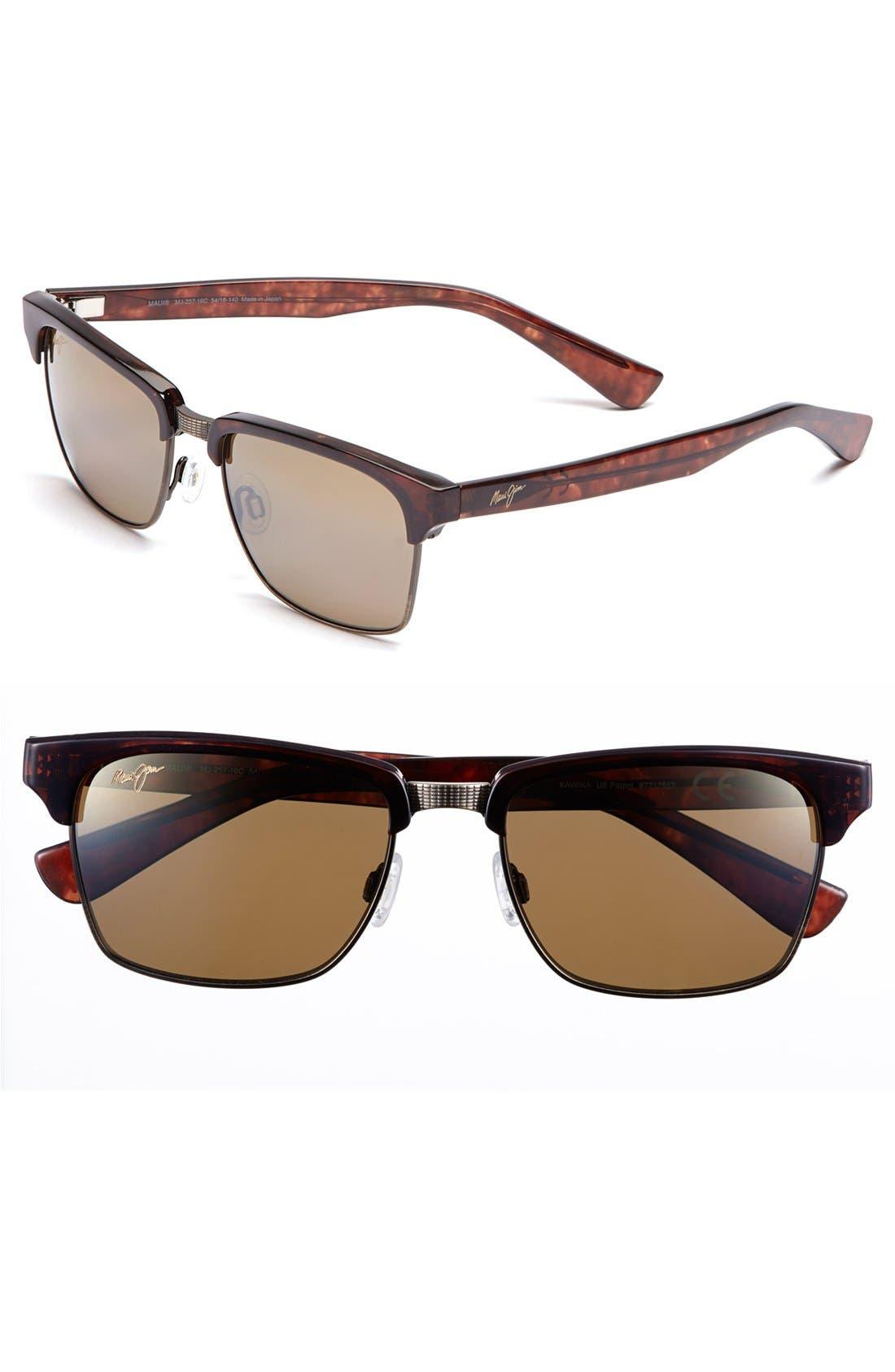 Alternate Image 1 Selected - Maui Jim 'Kawika - PolarizedPlus®2' 54mm Sunglasses