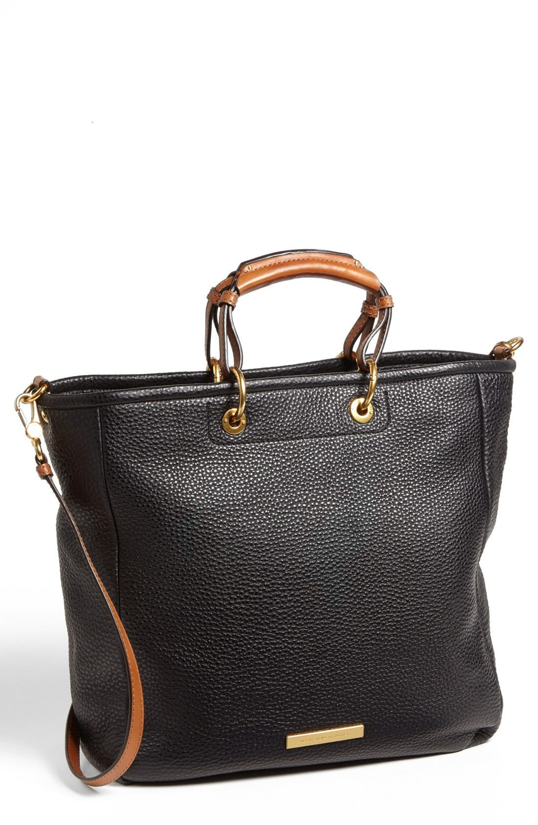 Main Image - MARC BY MARC JACOBS 'Softy Saddle' Leather Tote