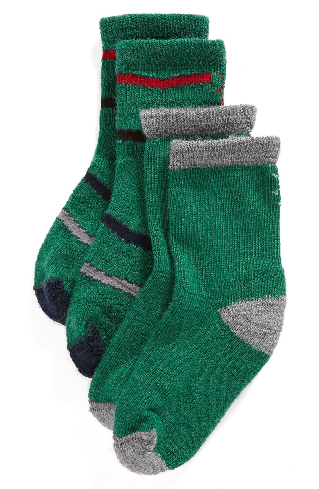Main Image - Smartwool Socks (2-Pack) (Baby Boys & Toddler Boys)