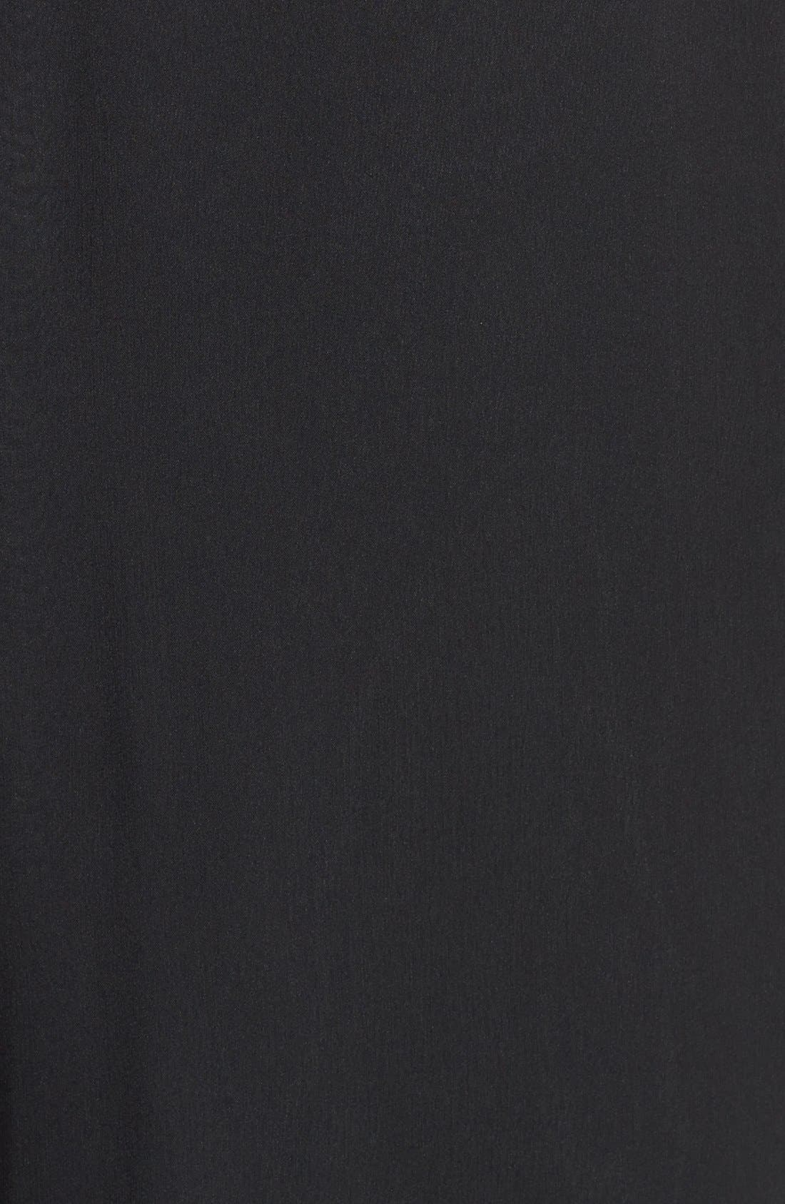 Alternate Image 3  - Jim Hjelm Occasions Illusion Lace Bodice Chiffon Dress