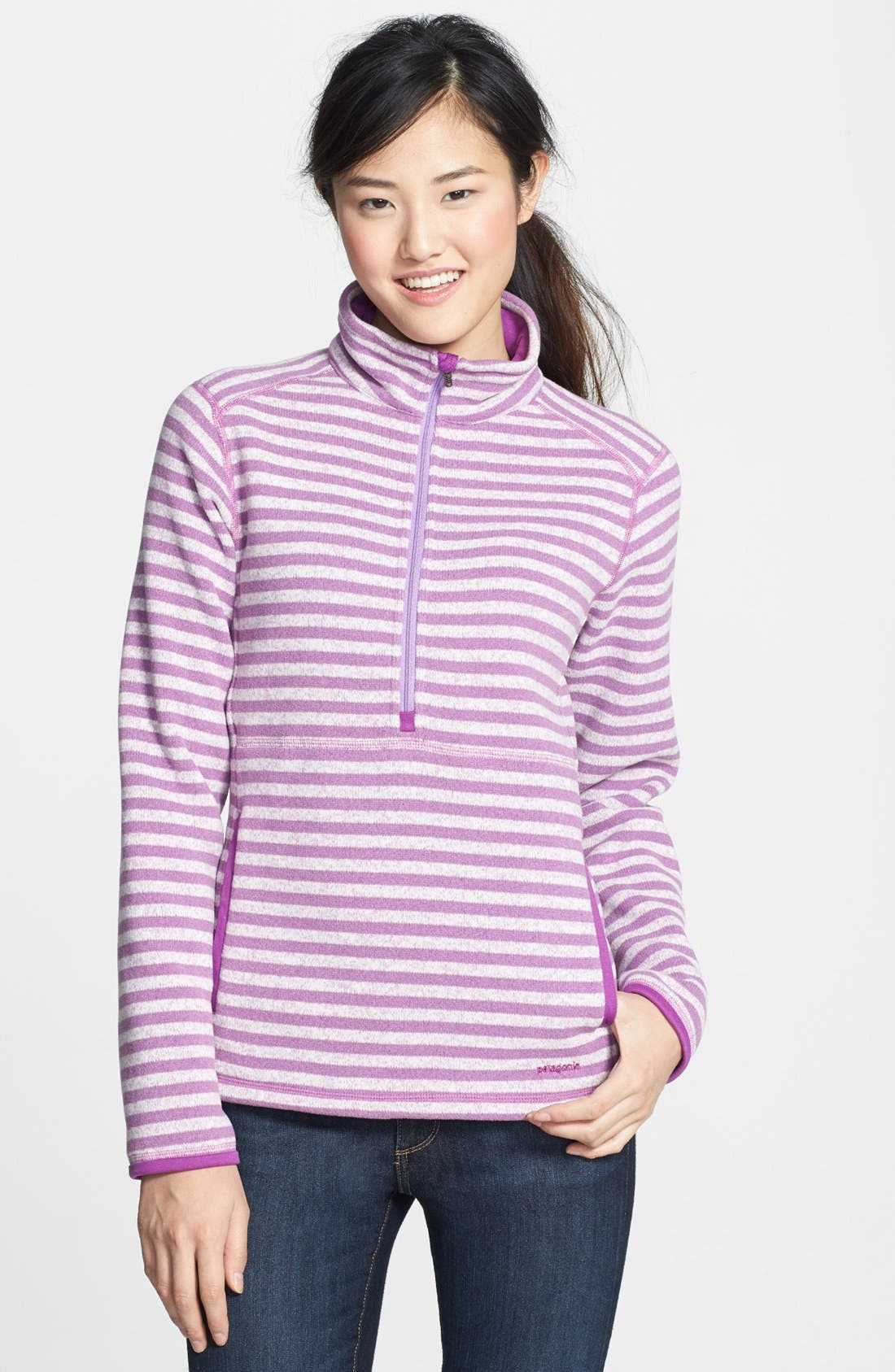 Alternate Image 1 Selected - Patagonia 'Better Sweater' Half Zip Pullover