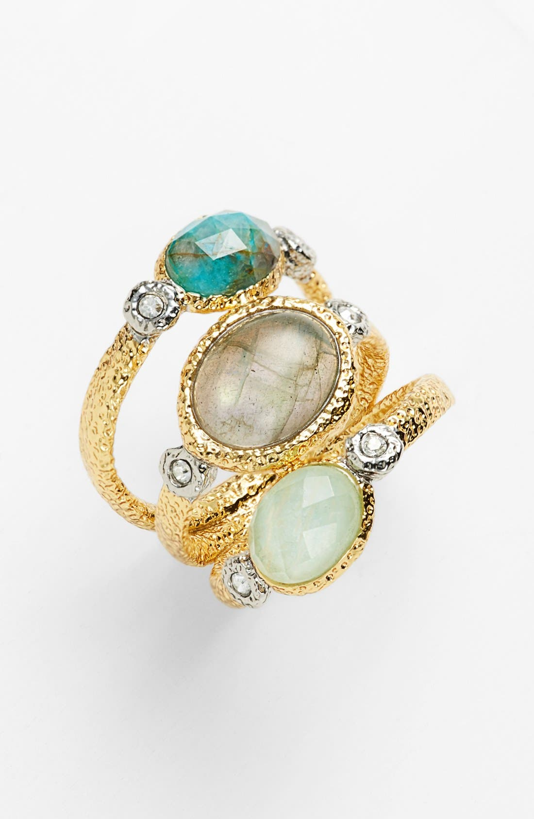 Alternate Image 1 Selected - Alexis Bittar 'Elements' Stone Stack Ring