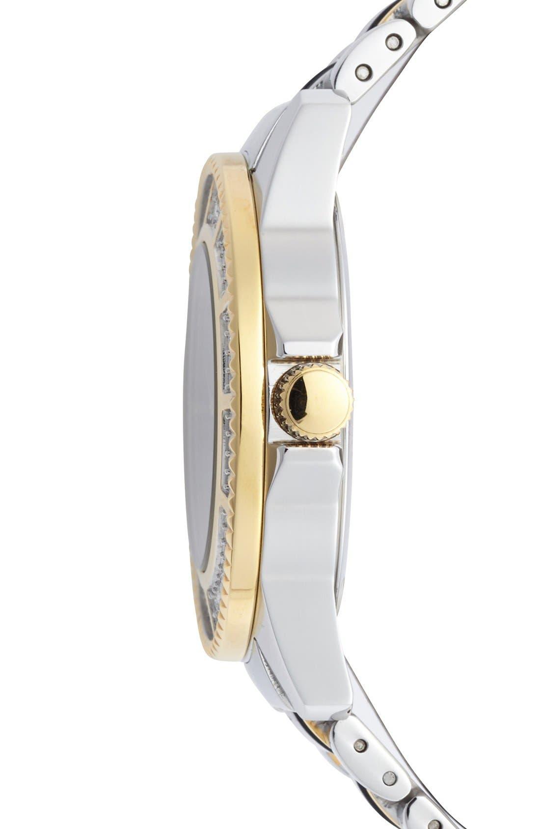 Alternate Image 3  - Versus by Versace 'Tokyo' Crystal Bezel Bracelet Watch