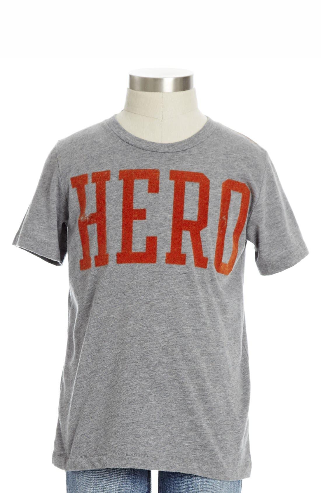 Main Image - Peek 'Hero' T-Shirt (Toddler Boys, Little Boys & Big Boys)