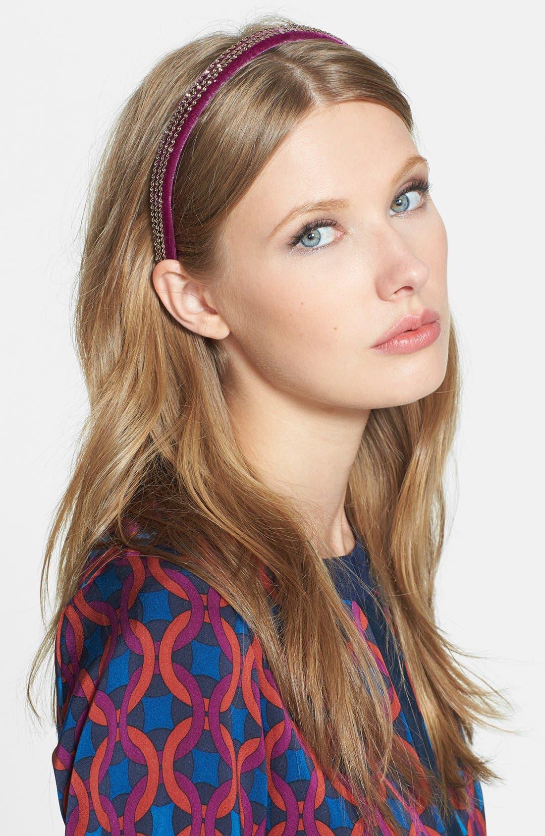 Alternate Image 1 Selected - Tasha 'Velvet Vixen' Headband