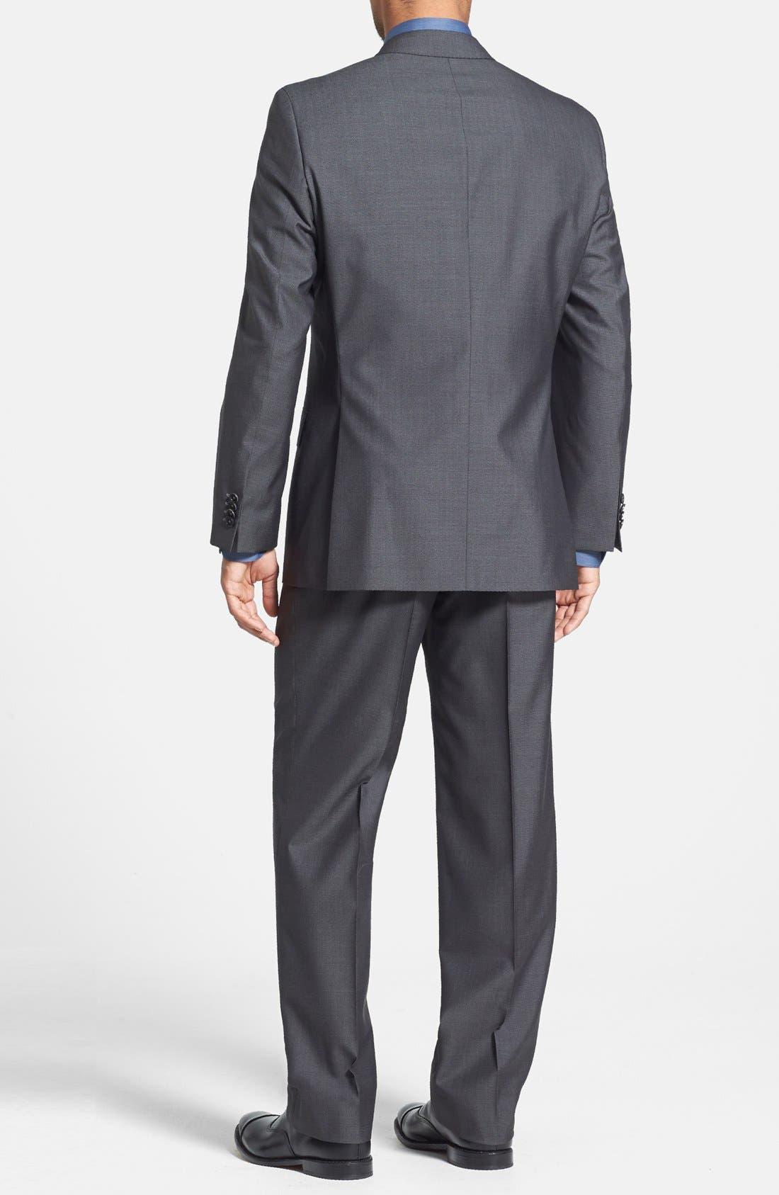 Alternate Image 2  - BOSS HUGO BOSS 'Edison/Power' Classic Fit Wool Blend Suit