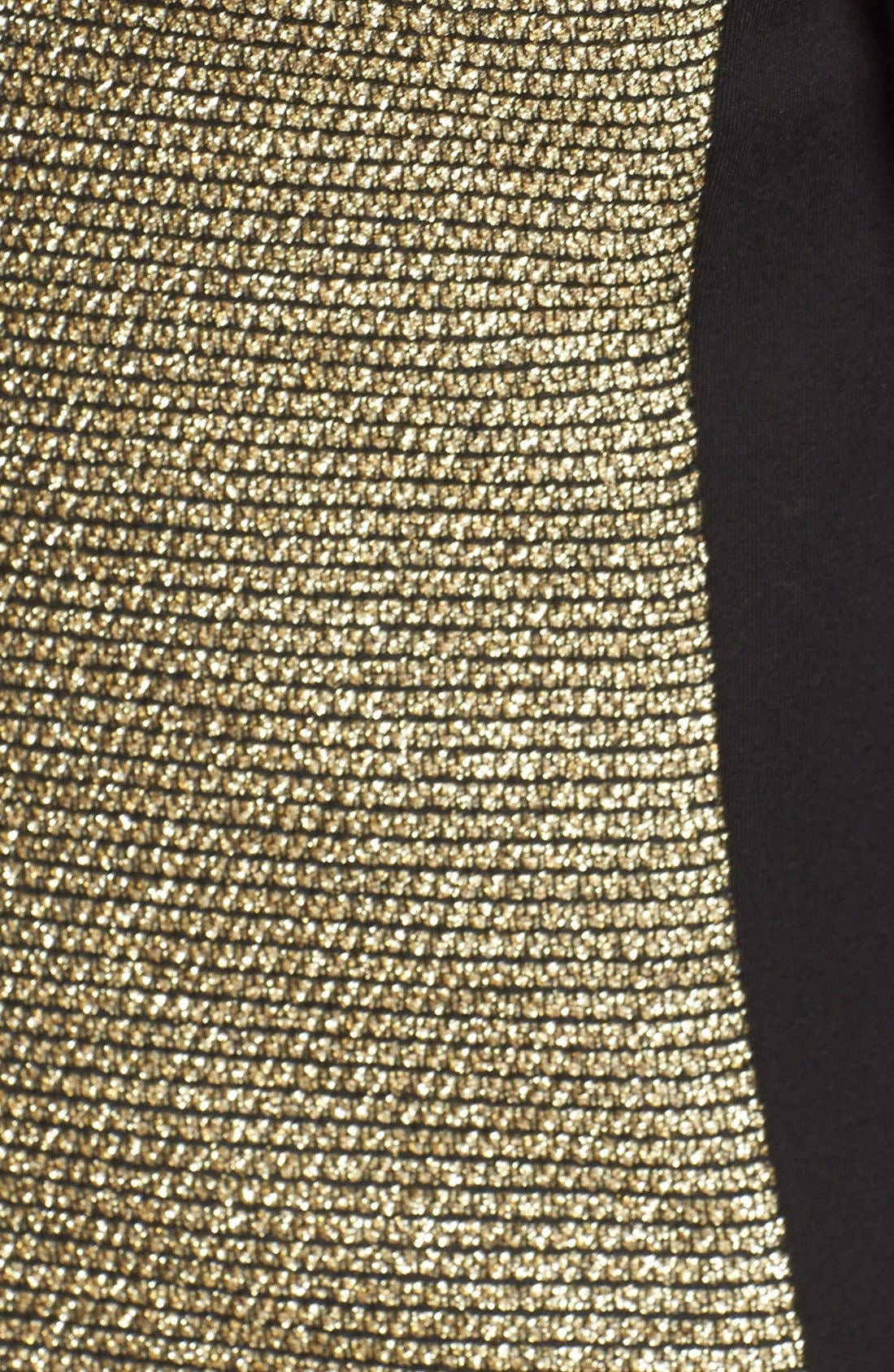Alternate Image 3  - MICHAEL Michael Kors Metallic Tweed & Ponte Knit Jacket