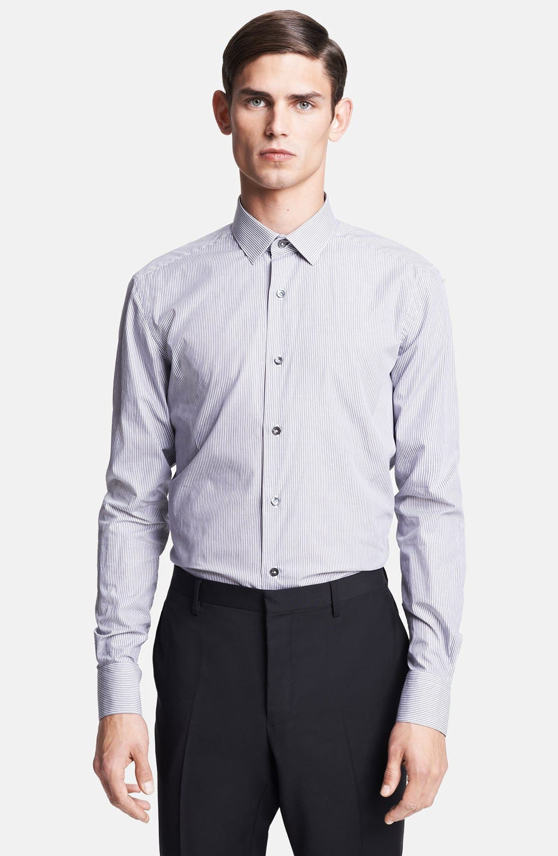 Alternate Image 1 Selected - Lanvin Micro Stripe Dress Shirt