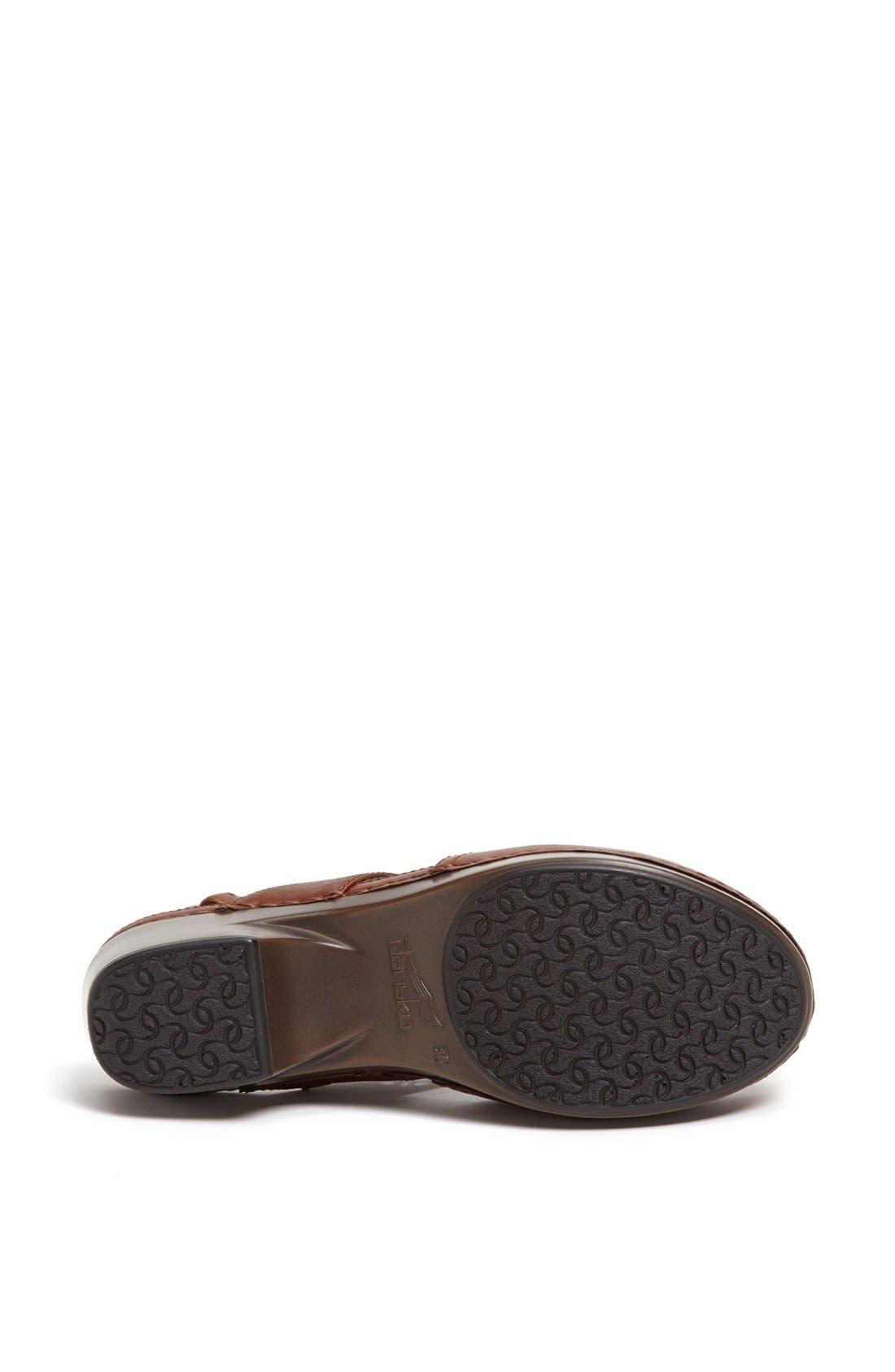 Alternate Image 4  - Dansko 'Trista' Leather Clog