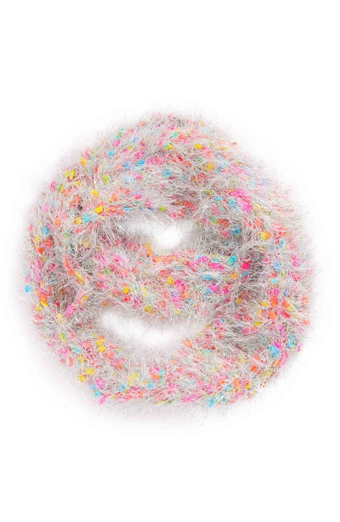 Main Image - Peace of Cake 'Sparkle Popcorn' Infinity Scarf (Girls)