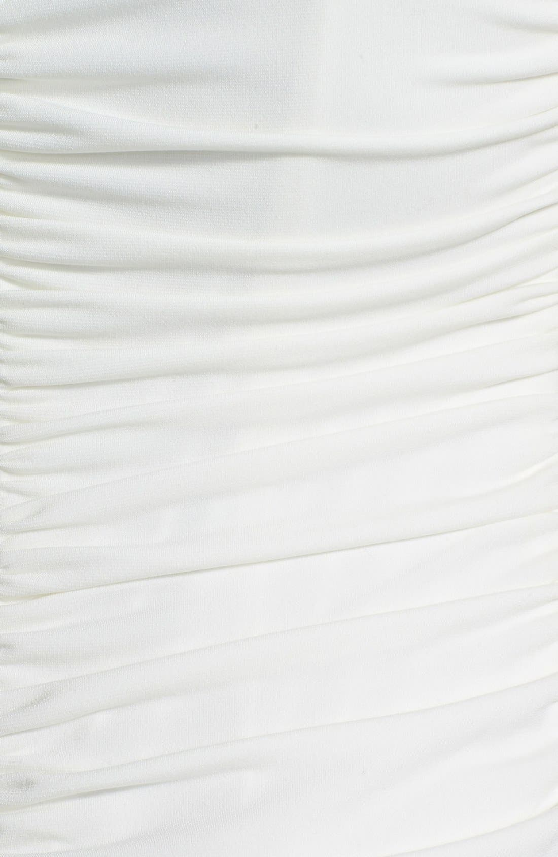 Alternate Image 3  - Laundry by Shelli Segal Ruffled Jersey Gown