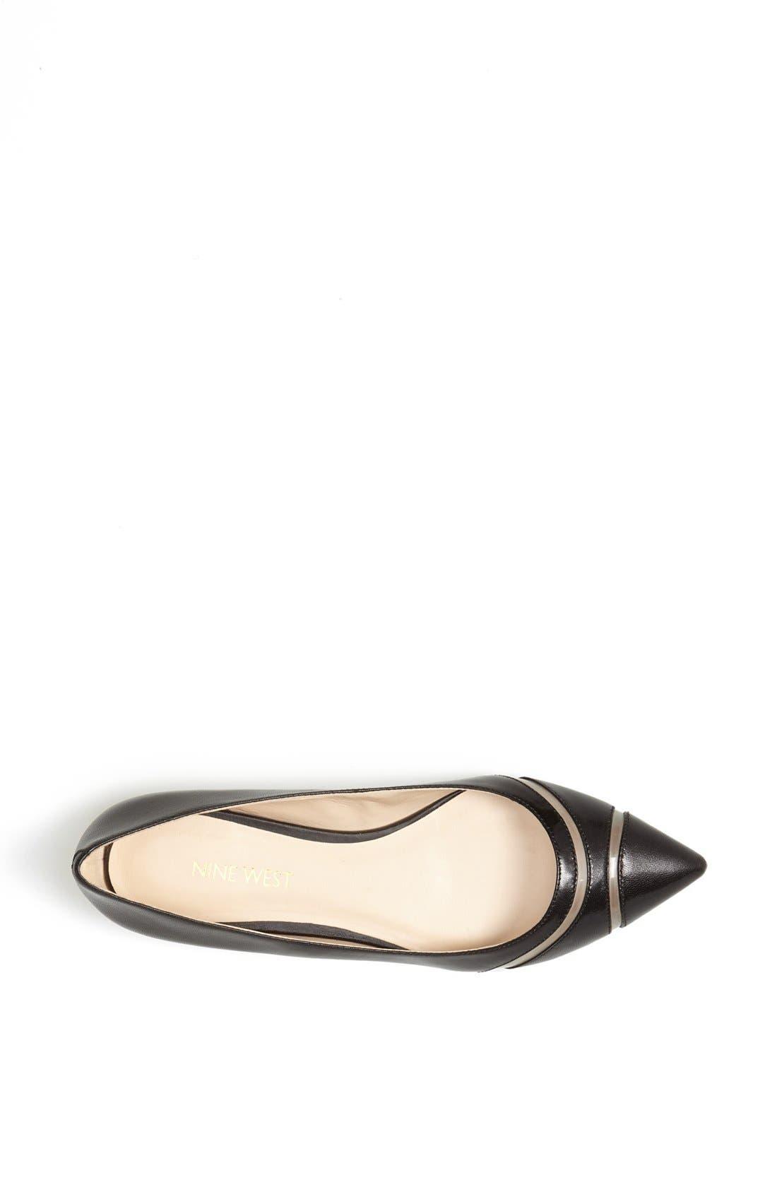 Alternate Image 3  - Nine West 'Auro' Pointy Toe Flat