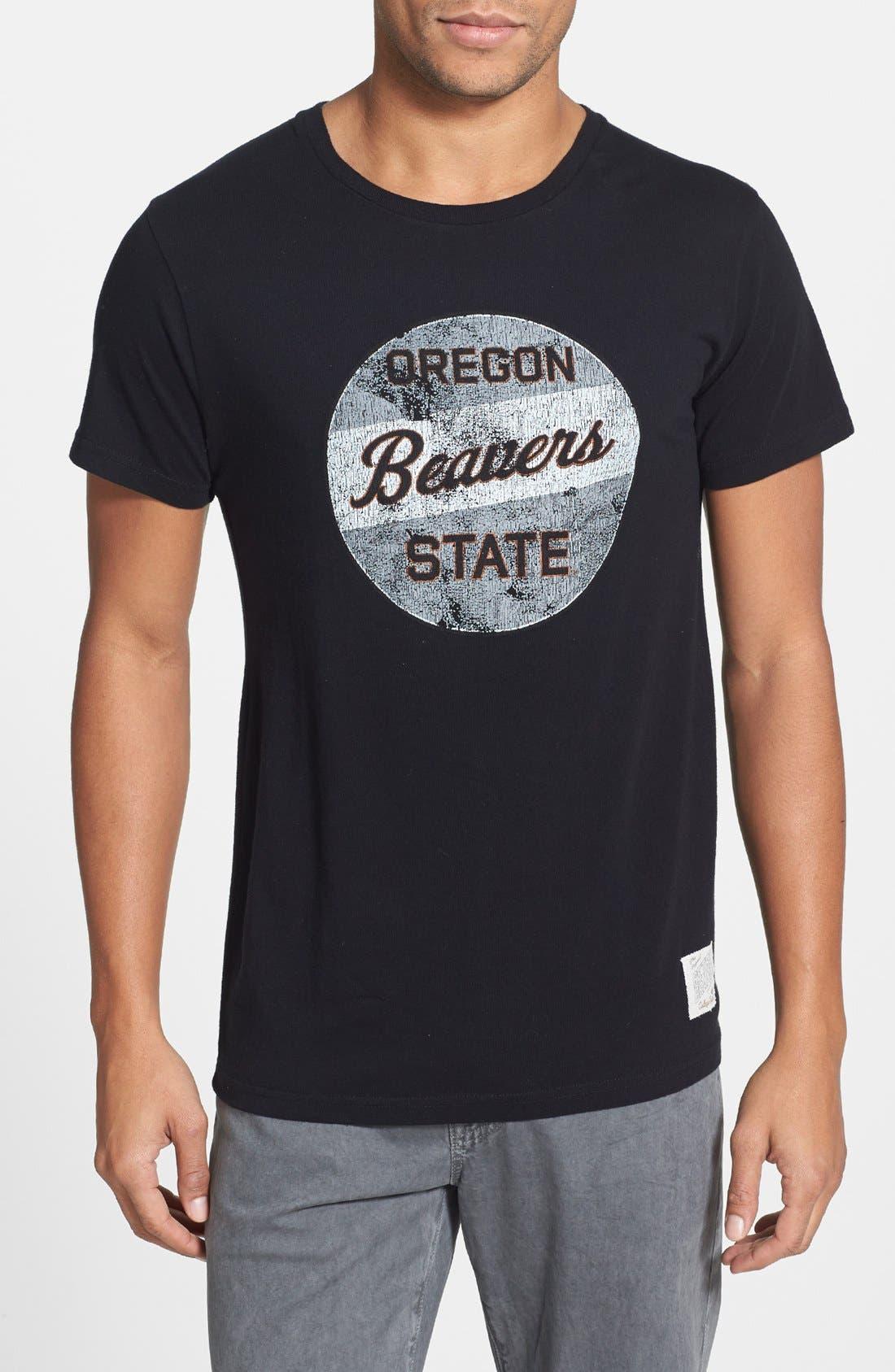 Alternate Image 1 Selected - Retro Brand 'Oregon State Beavers' Graphic T-Shirt