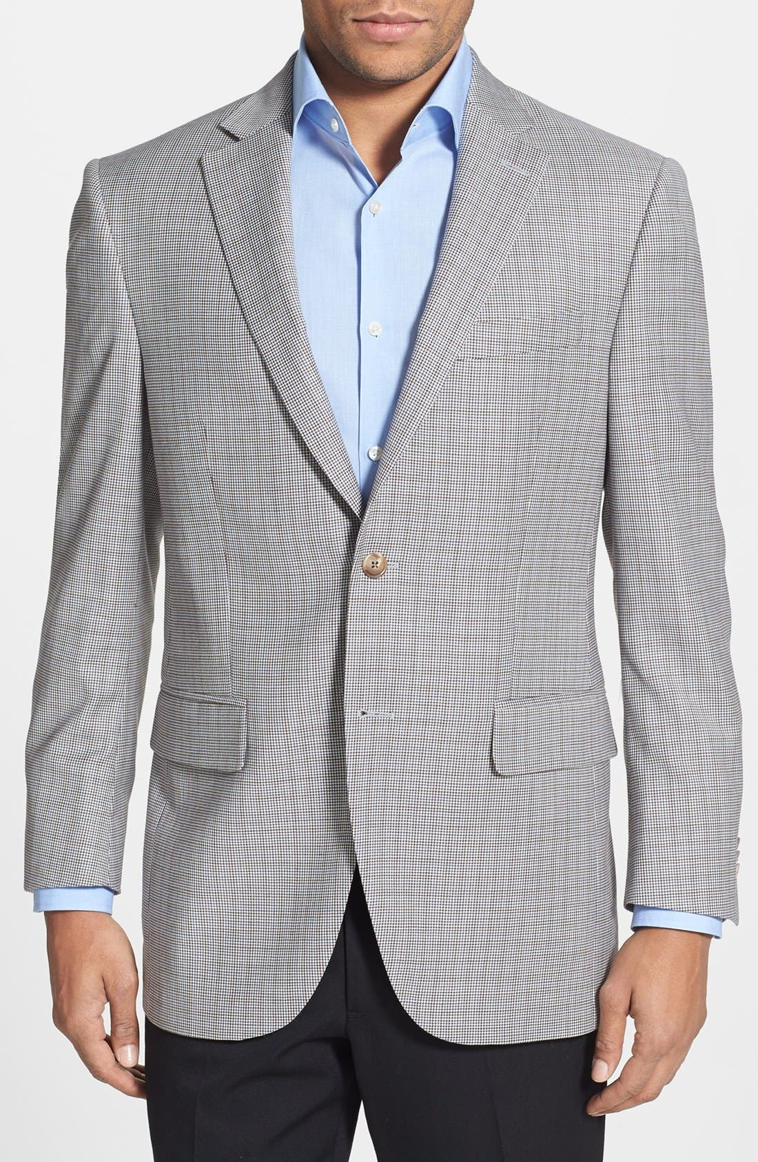 Alternate Image 1 Selected - Peter Millar Classic Fit Check Sportcoat