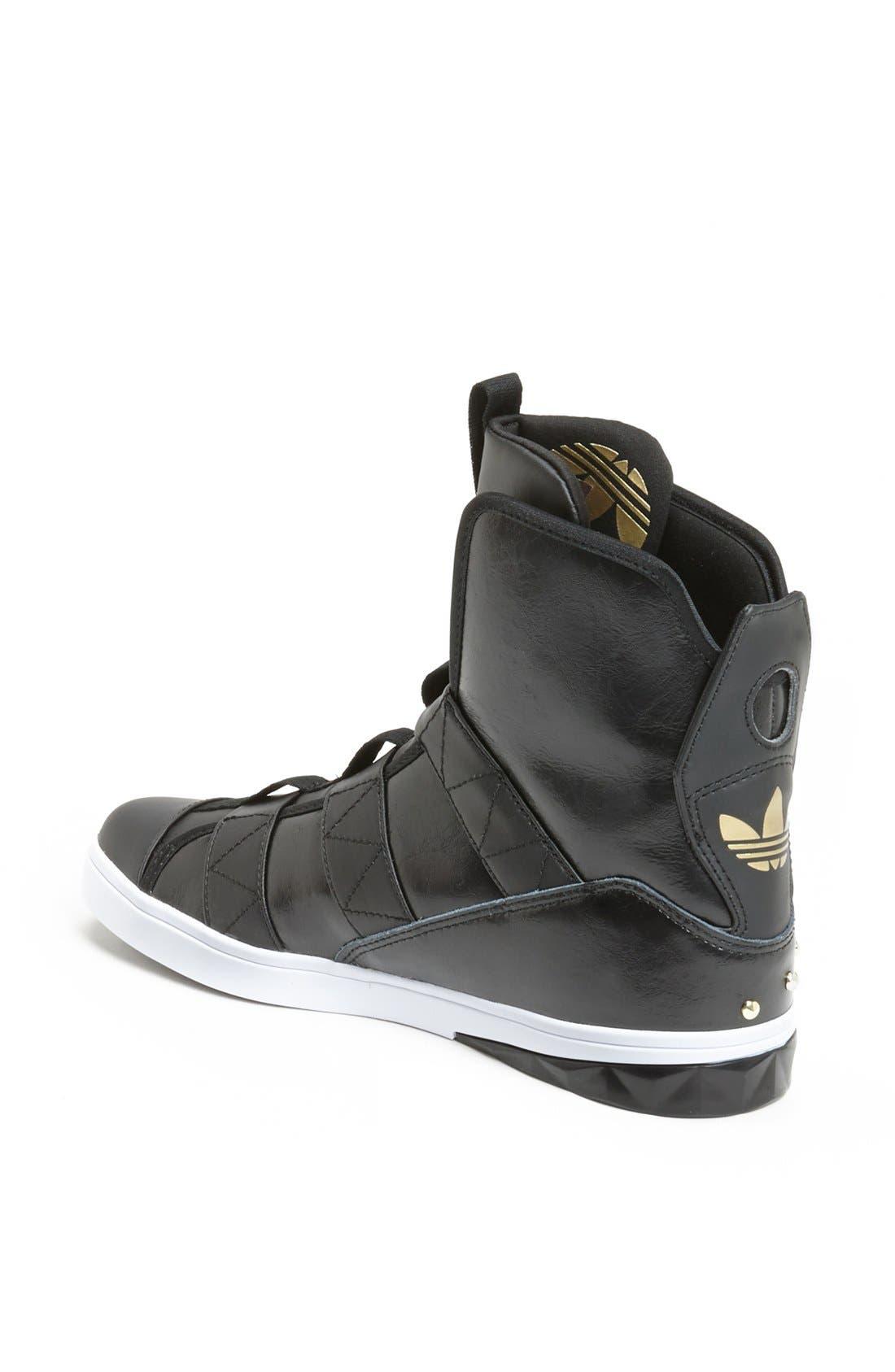 Alternate Image 2  - adidas 'Chic High' Sneaker (Women)