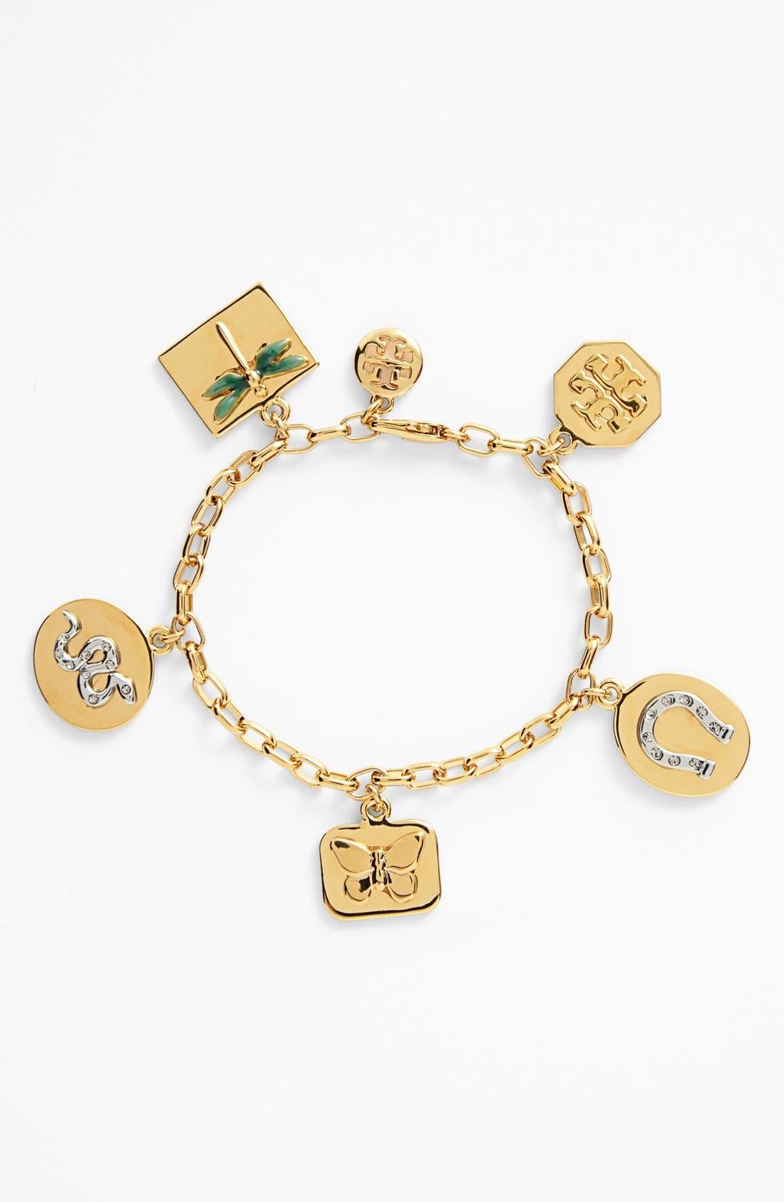 Main Image - Tory Burch 'Sylbie' Charm Bracelet