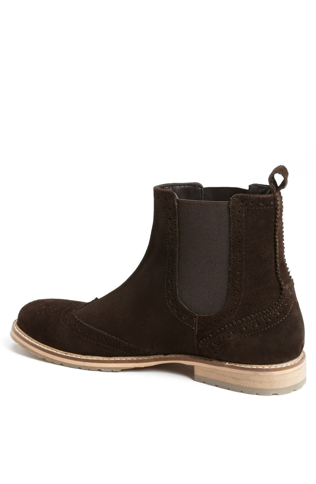 Alternate Image 2  - Ben Sherman 'Bruno' Wingtip Chelsea Boot (Men)
