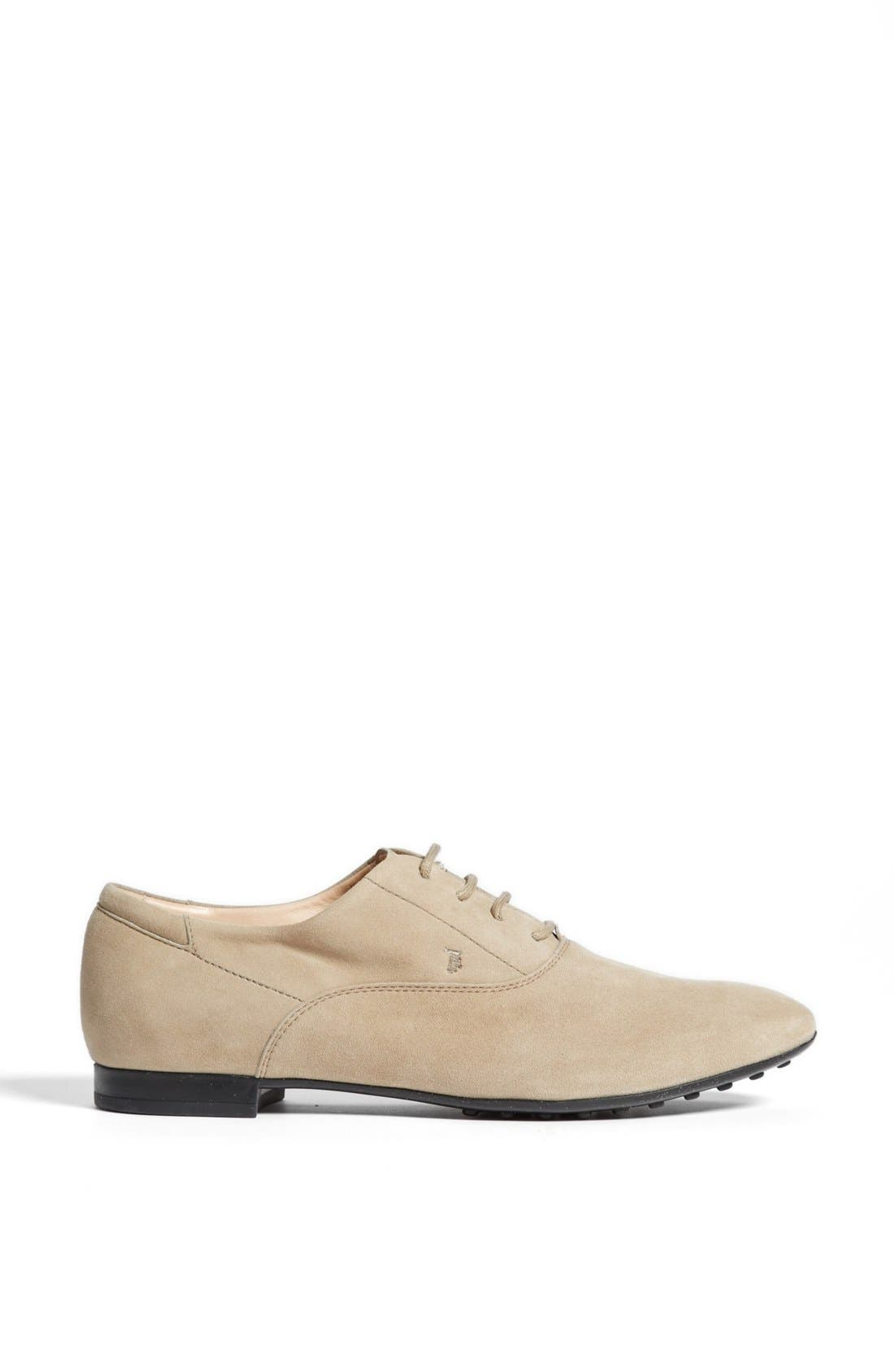 Alternate Image 4  - Tod's Suede Oxford