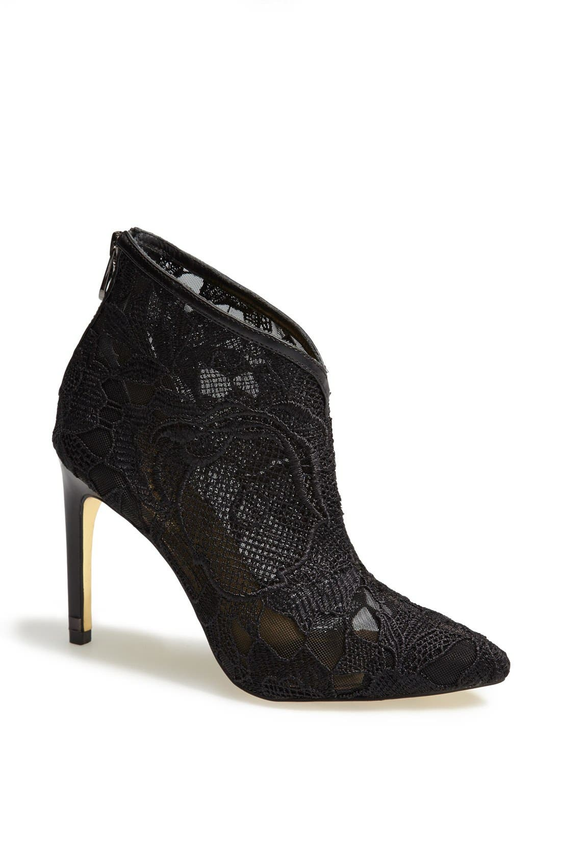 Main Image - Ted Baker London 'Printi' Pointy Toe Bootie